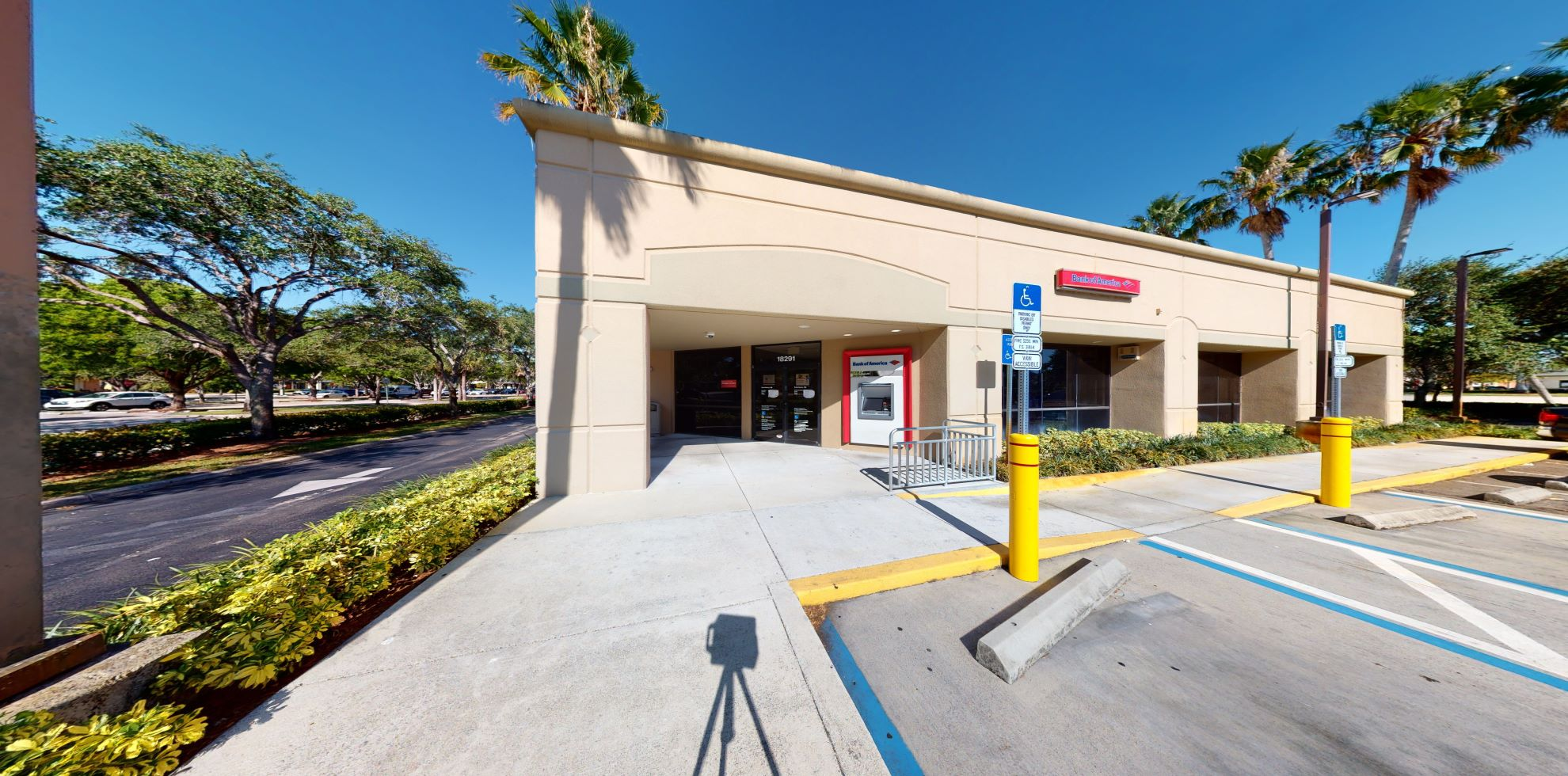 Bank of America financial center with drive-thru ATM   18291 Pines Blvd, Pembroke Pines, FL 33029