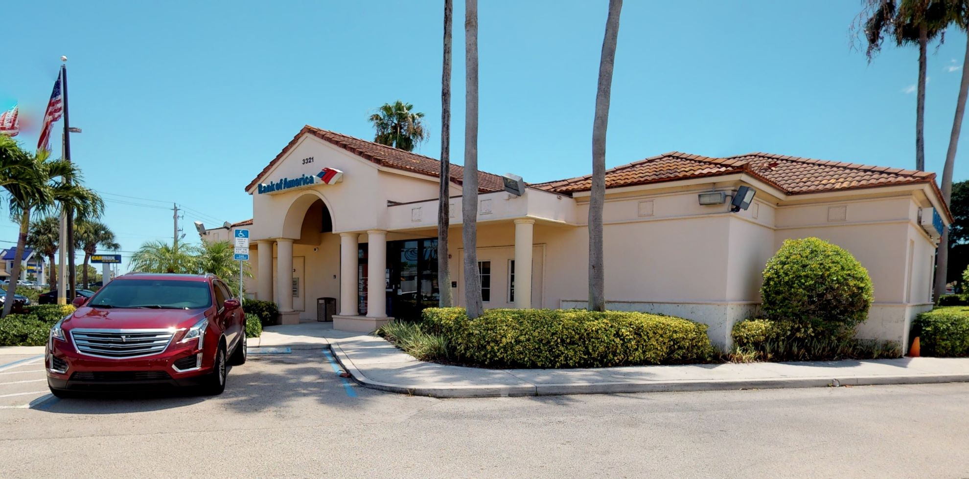 Bank of America financial center with drive-thru ATM | 3321 NW Federal Hwy, Jensen Beach, FL 34957