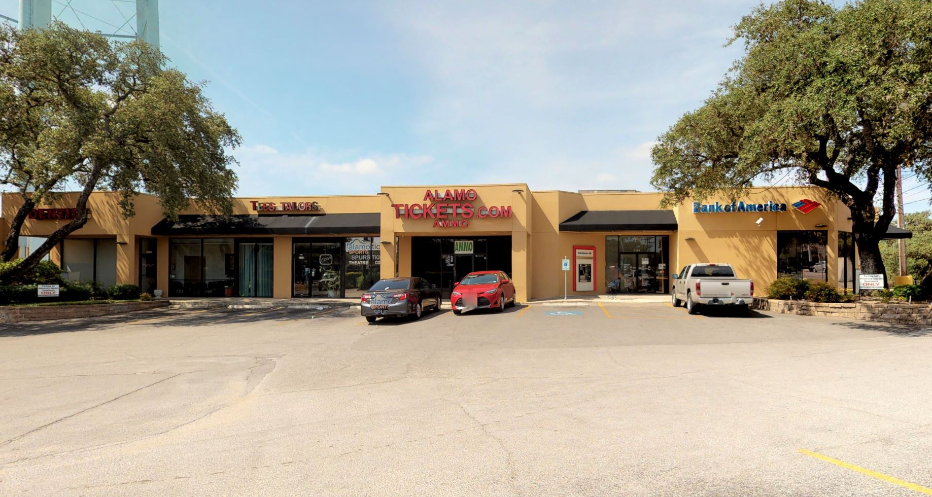 Bank of America financial center with drive-thru ATM   2134 NW Military Hwy, San Antonio, TX 78213