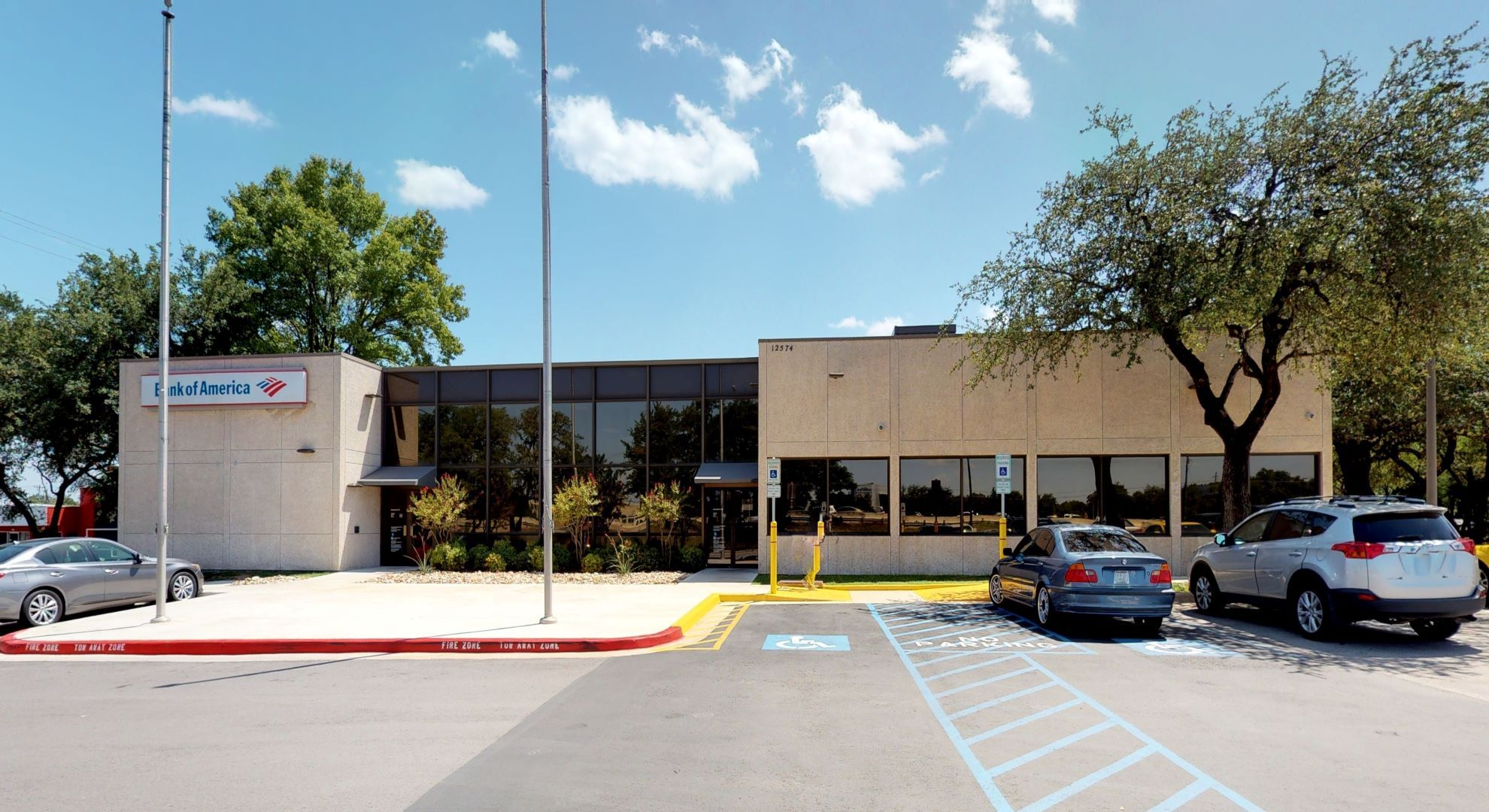 Bank of America financial center with drive-thru ATM | 12574 Research Blvd, Austin, TX 78759