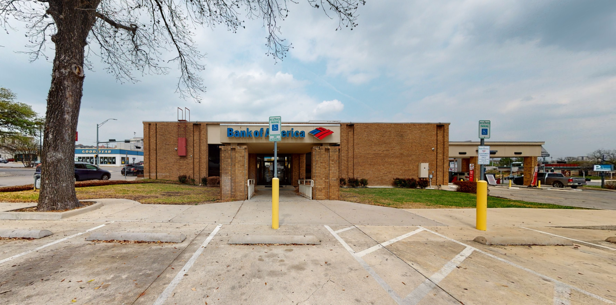 Bank of America financial center with drive-thru ATM and teller   308 E Hopkins St, San Marcos, TX 78666