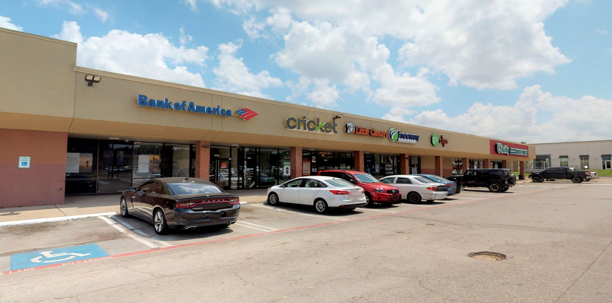 Bank of America financial center with drive-thru ATM | 2130 Fort Worth Ave, Dallas, TX 75211