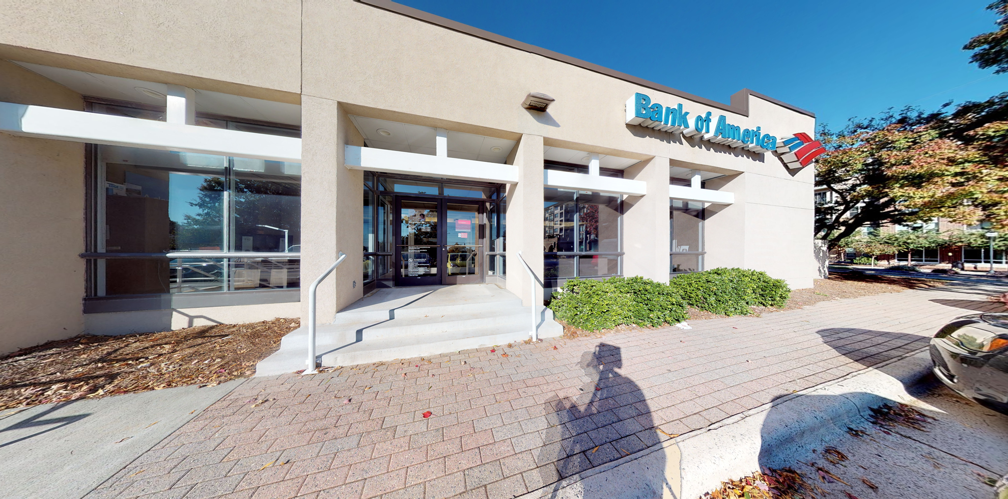 Bank of America financial center with drive-thru ATM   321 Oberlin Rd, Raleigh, NC 27605