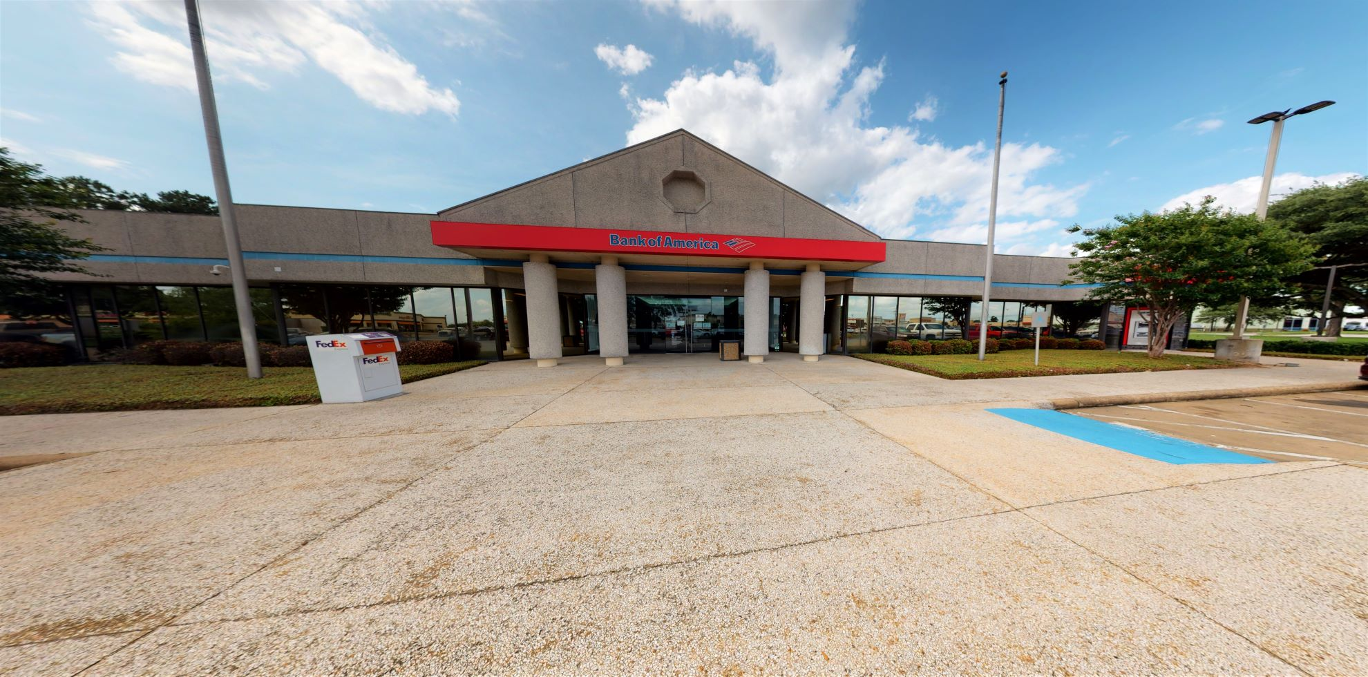Bank of America financial center with drive-thru ATM | 11025 FM 1960 Rd W, Houston, TX 77065