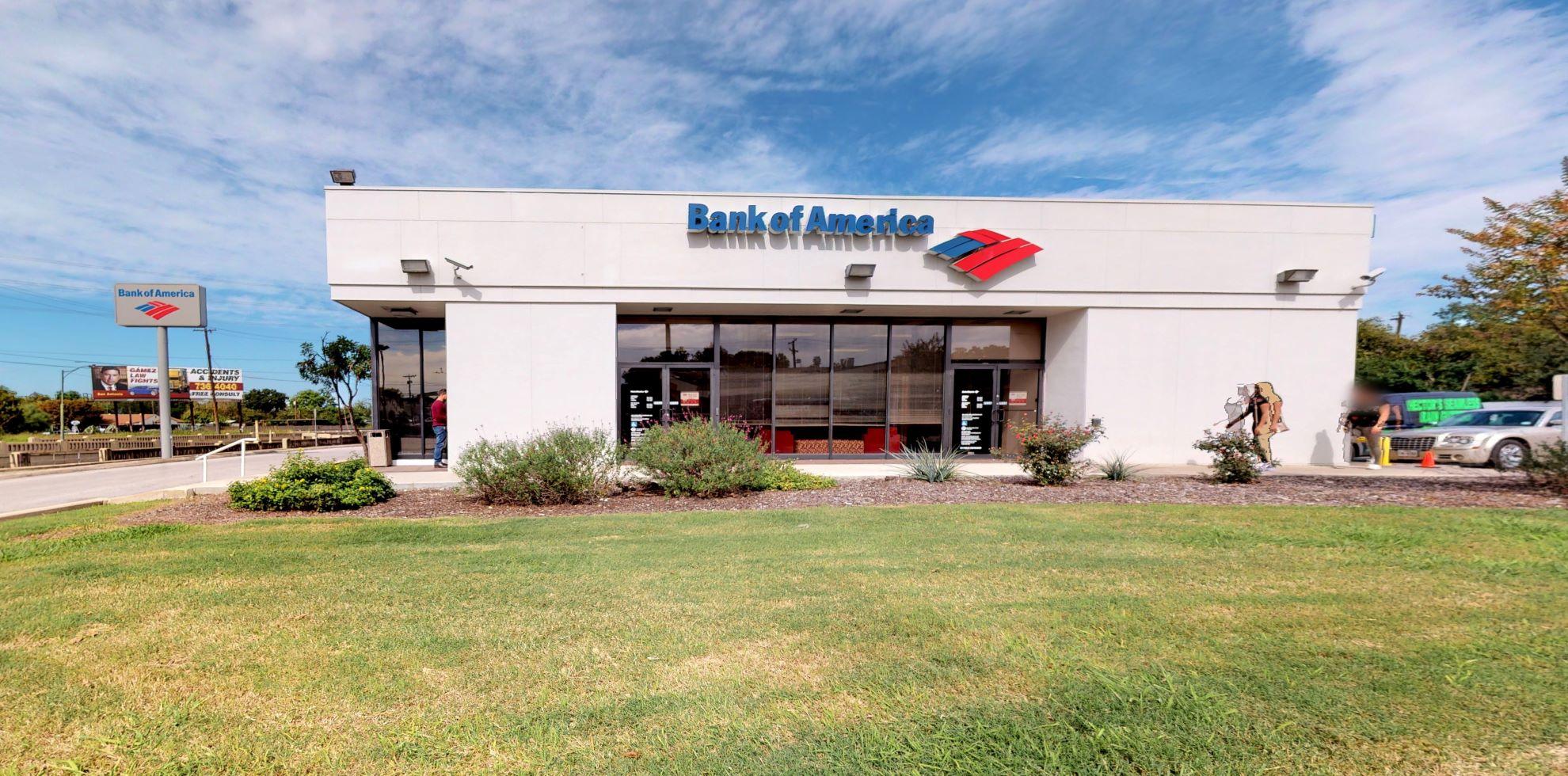 Bank of America financial center with drive-thru ATM | 3500 San Pedro Ave, San Antonio, TX 78212