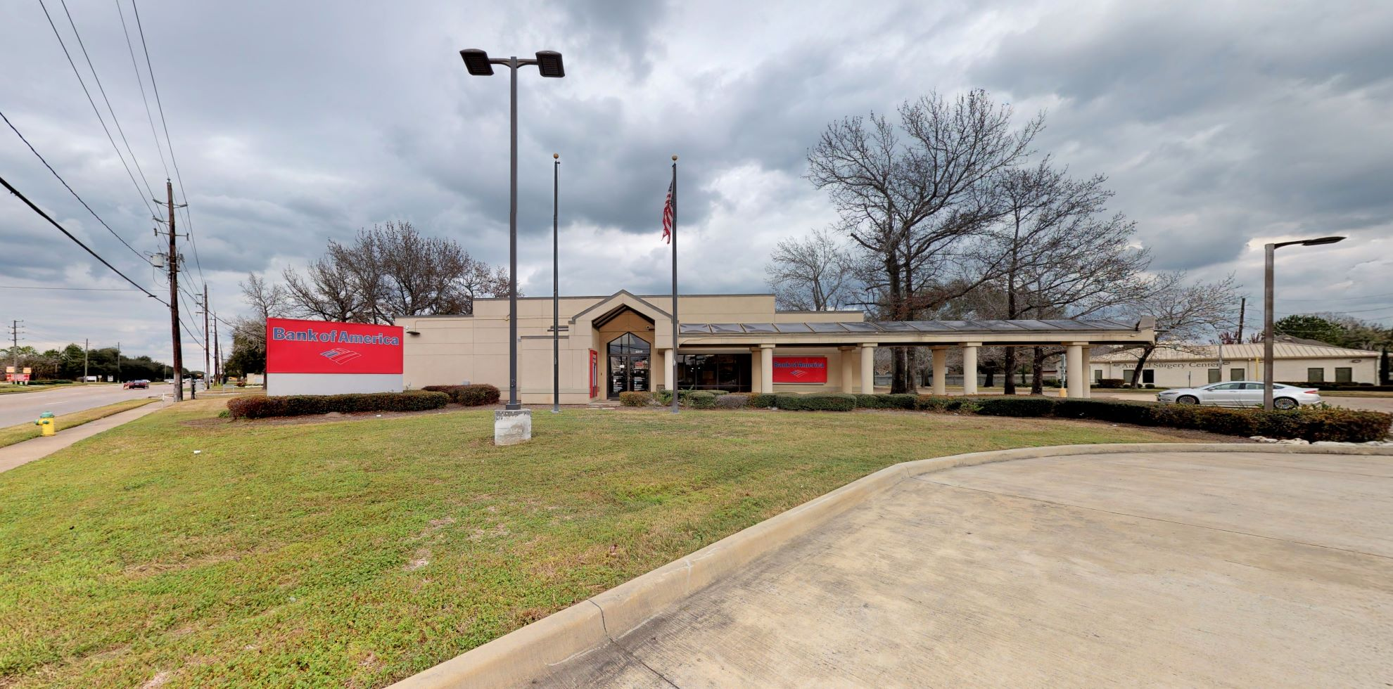 Bank of America financial center with drive-thru ATM | 8200 Jones Rd, Houston, TX 77065