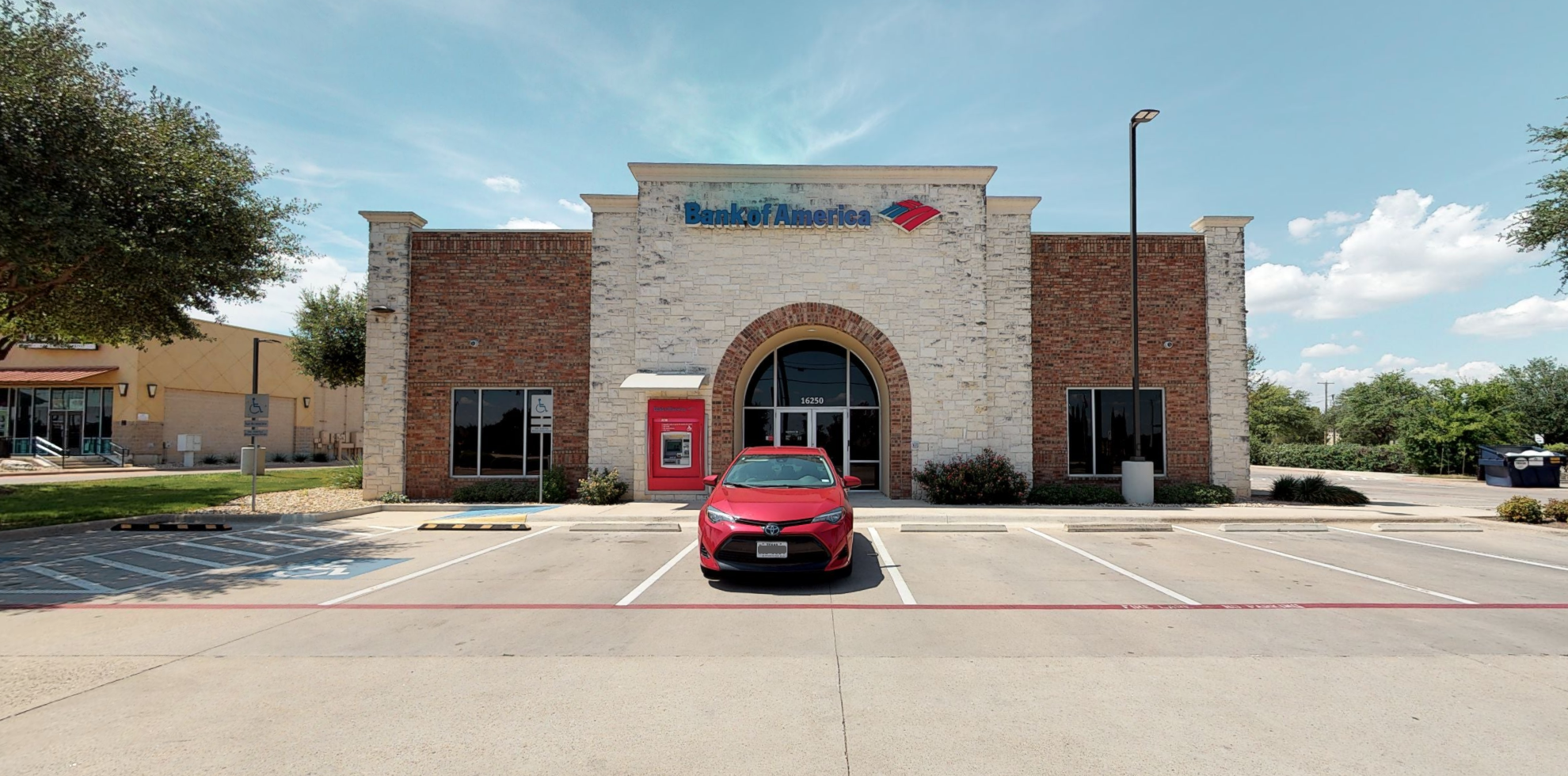 Bank of America financial center with drive-thru ATM   16250 Ranch Road 620 N, Austin, TX 78717