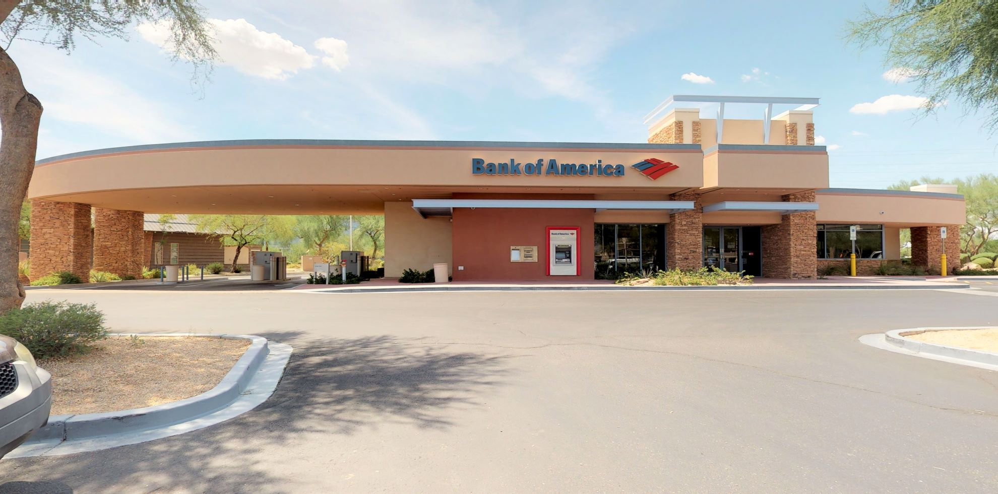 Bank of America financial center with drive-thru ATM   16431 N Scottsdale Rd, Scottsdale, AZ 85254