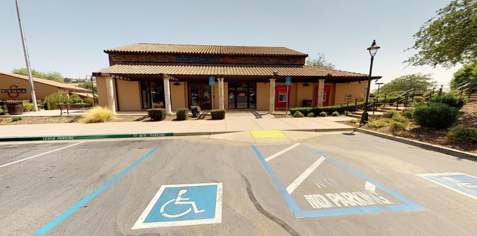 Bank of America financial center with walk-up ATM   3901 Park Dr, El Dorado Hills, CA 95762