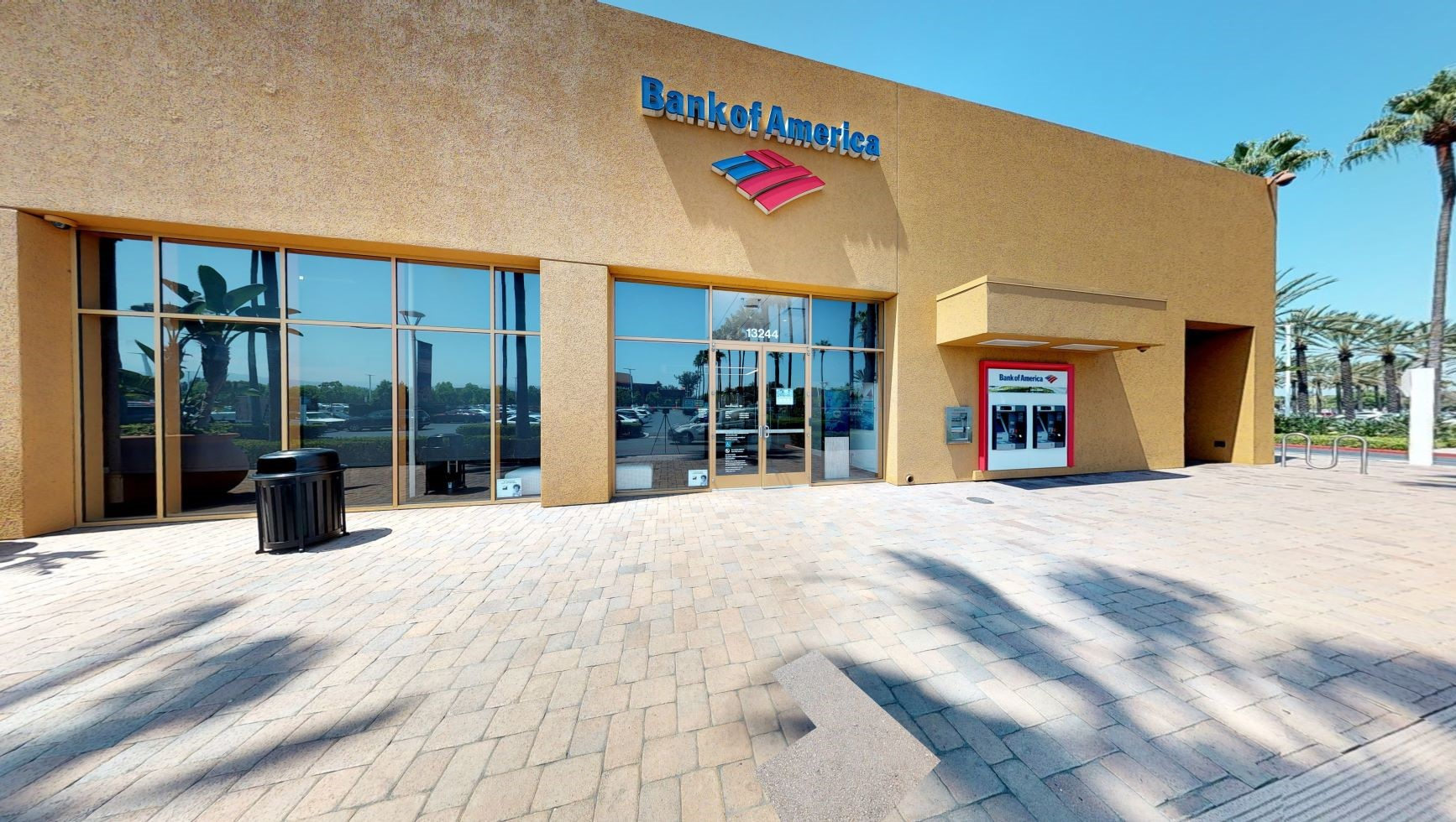 Bank of America financial center with walk-up ATM   13244 Jamboree Rd, Irvine, CA 92602