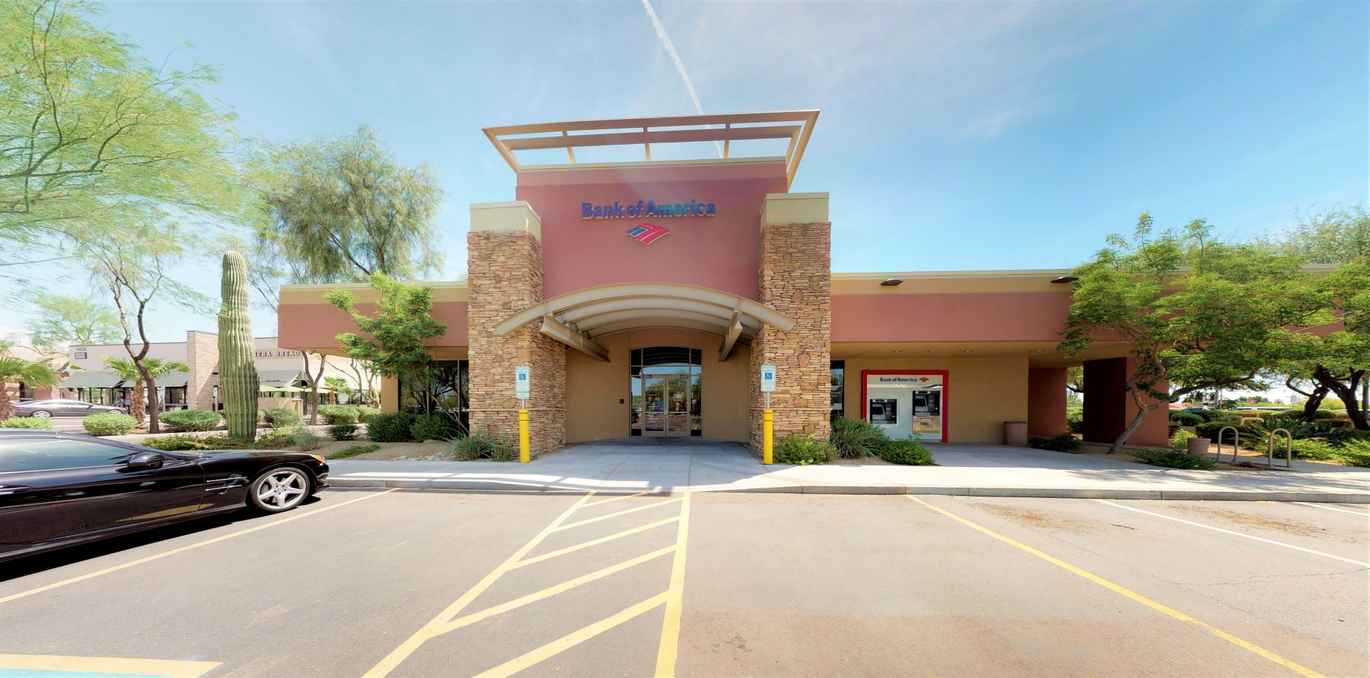Bank of America financial center with drive-thru ATM   8750 E Raintree Dr, Scottsdale, AZ 85260