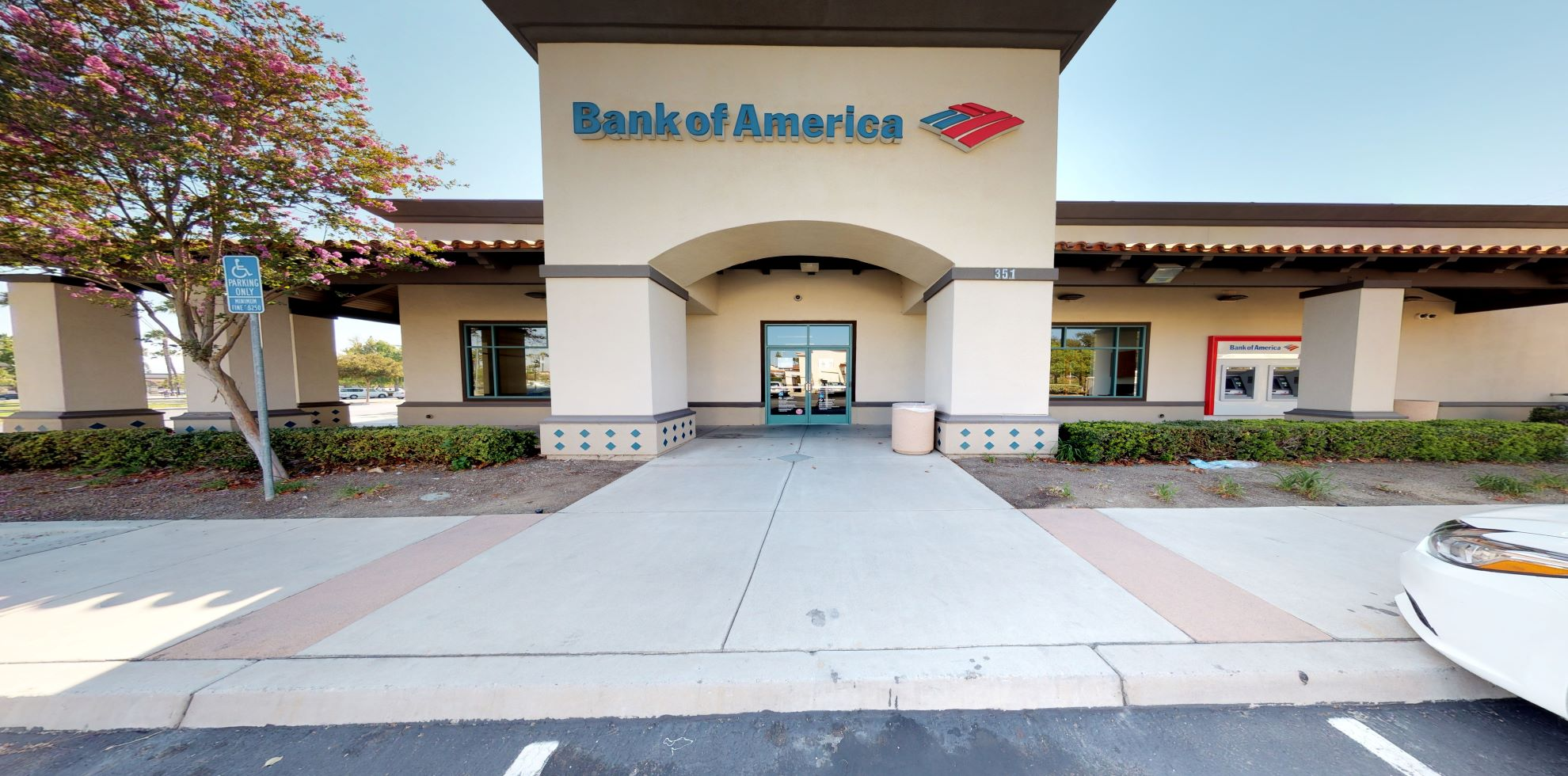Bank of America financial center with walk-up ATM   351 E Alessandro Blvd, Riverside, CA 92508
