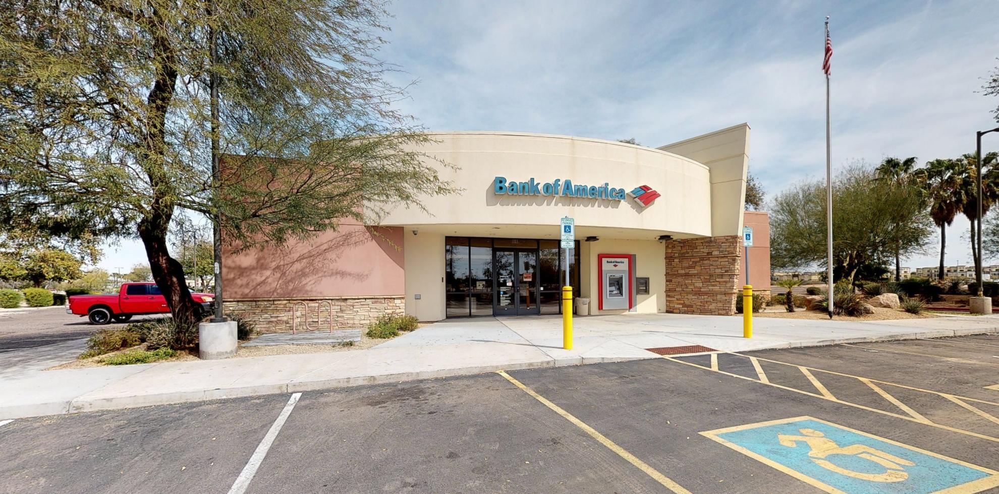 Bank of America financial center with drive-thru ATM   900 S Gilbert Rd, Gilbert, AZ 85296
