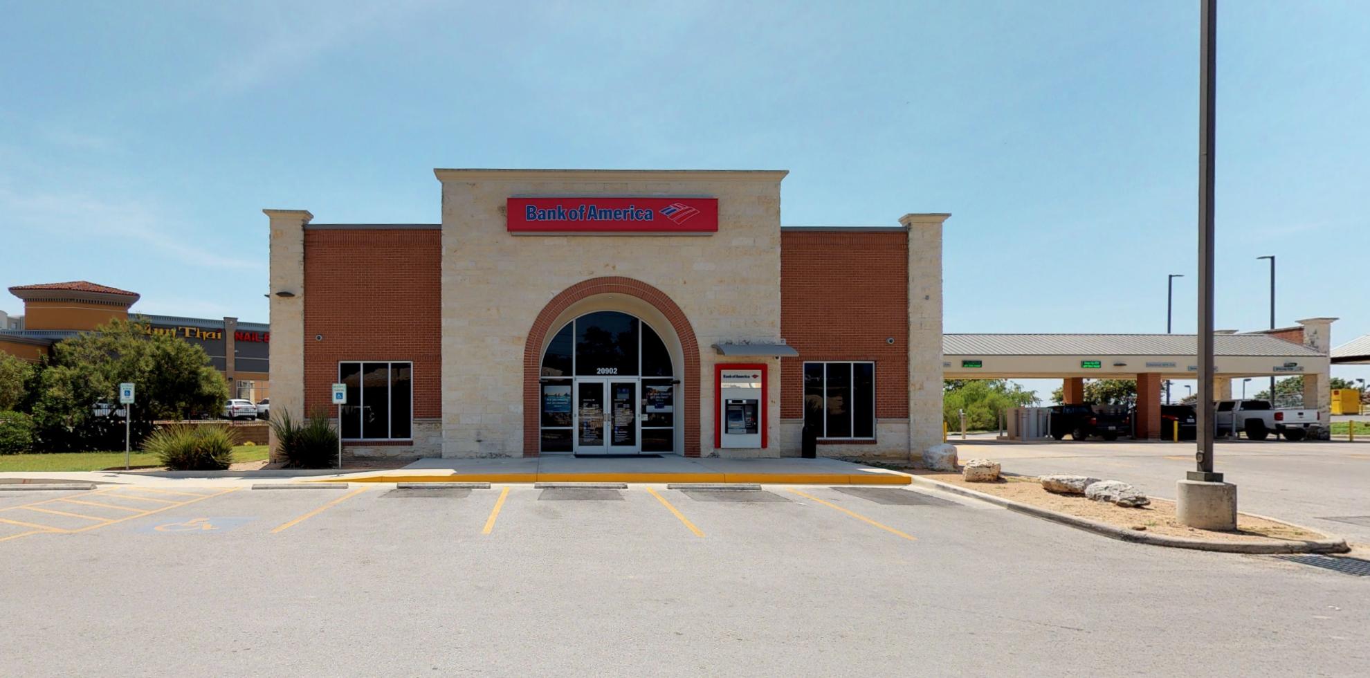 Bank of America financial center with drive-thru ATM   20902 US Highway 281 N, San Antonio, TX 78258