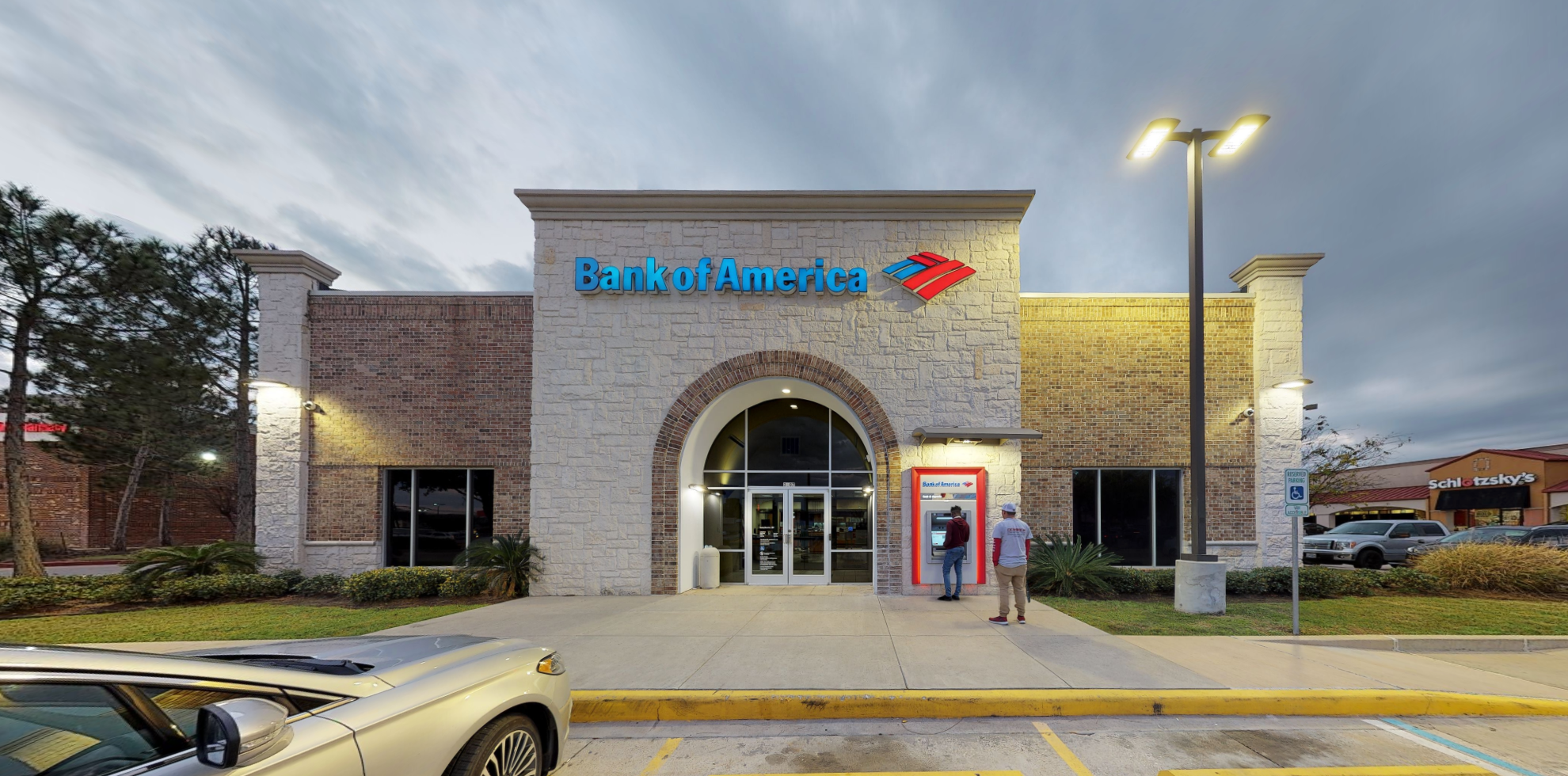 Bank of America financial center with drive-thru ATM | 3107 N Fry Rd, Katy, TX 77449