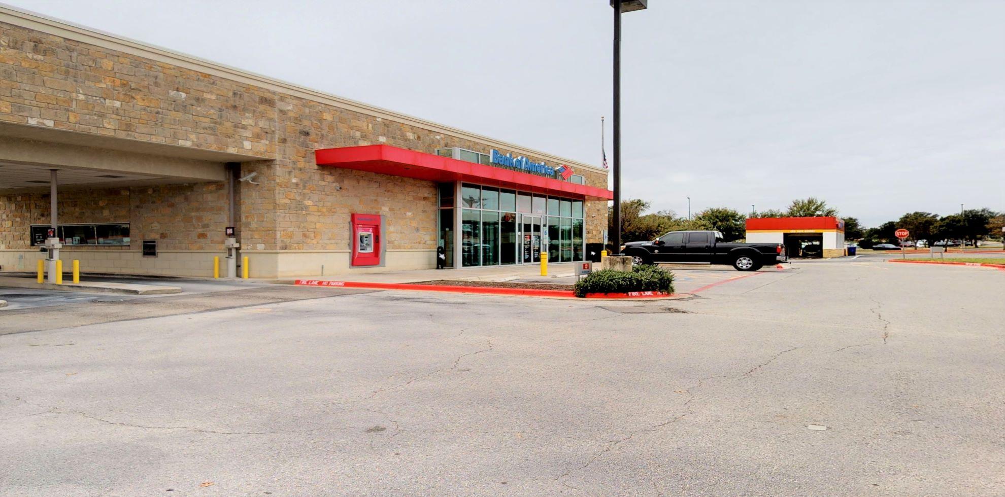 Bank of America financial center with drive-thru ATM and teller | 2800 E Whitestone Blvd, Cedar Park, TX 78613