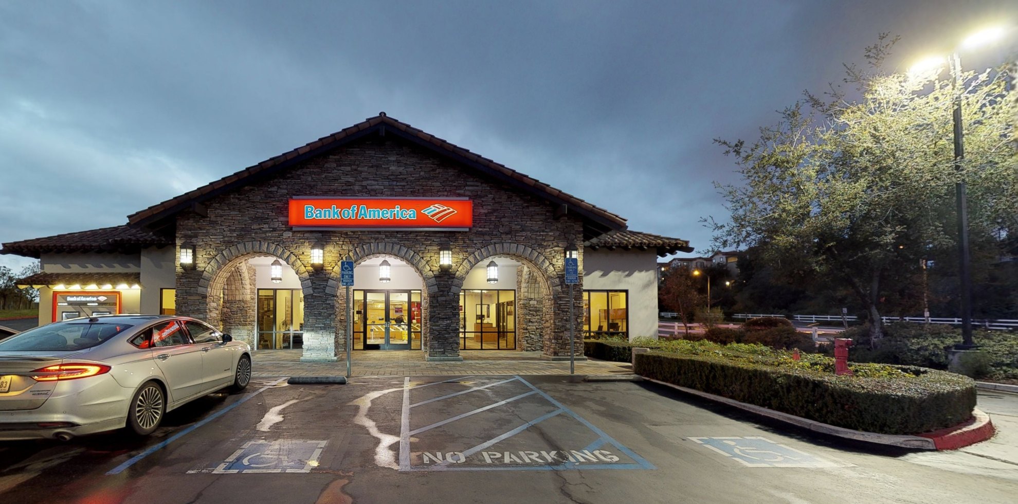 Bank of America financial center with drive-thru ATM | 26960 The Old Rd, Stevenson Ranch, CA 91381