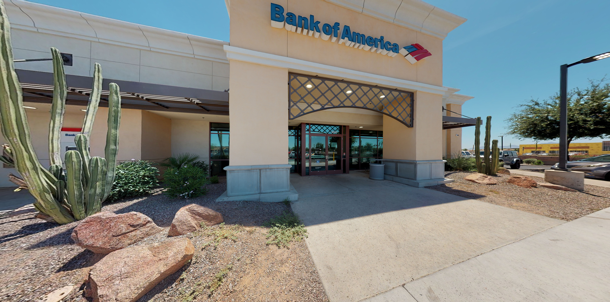 Bank of America financial center with drive-thru ATM   5007 N Dysart Rd, Litchfield Park, AZ 85340