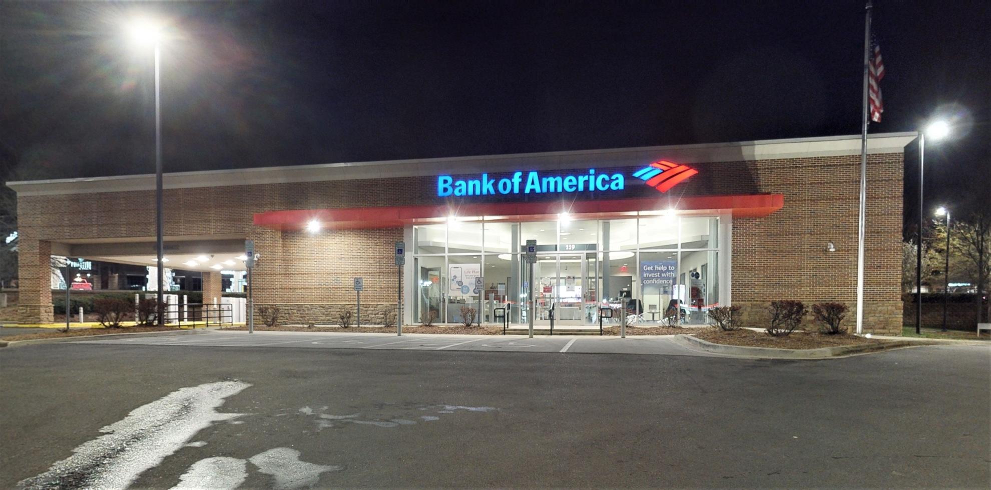 Bank of America financial center with drive-thru ATM | 119 Cross Center Rd, Denver, NC 28037