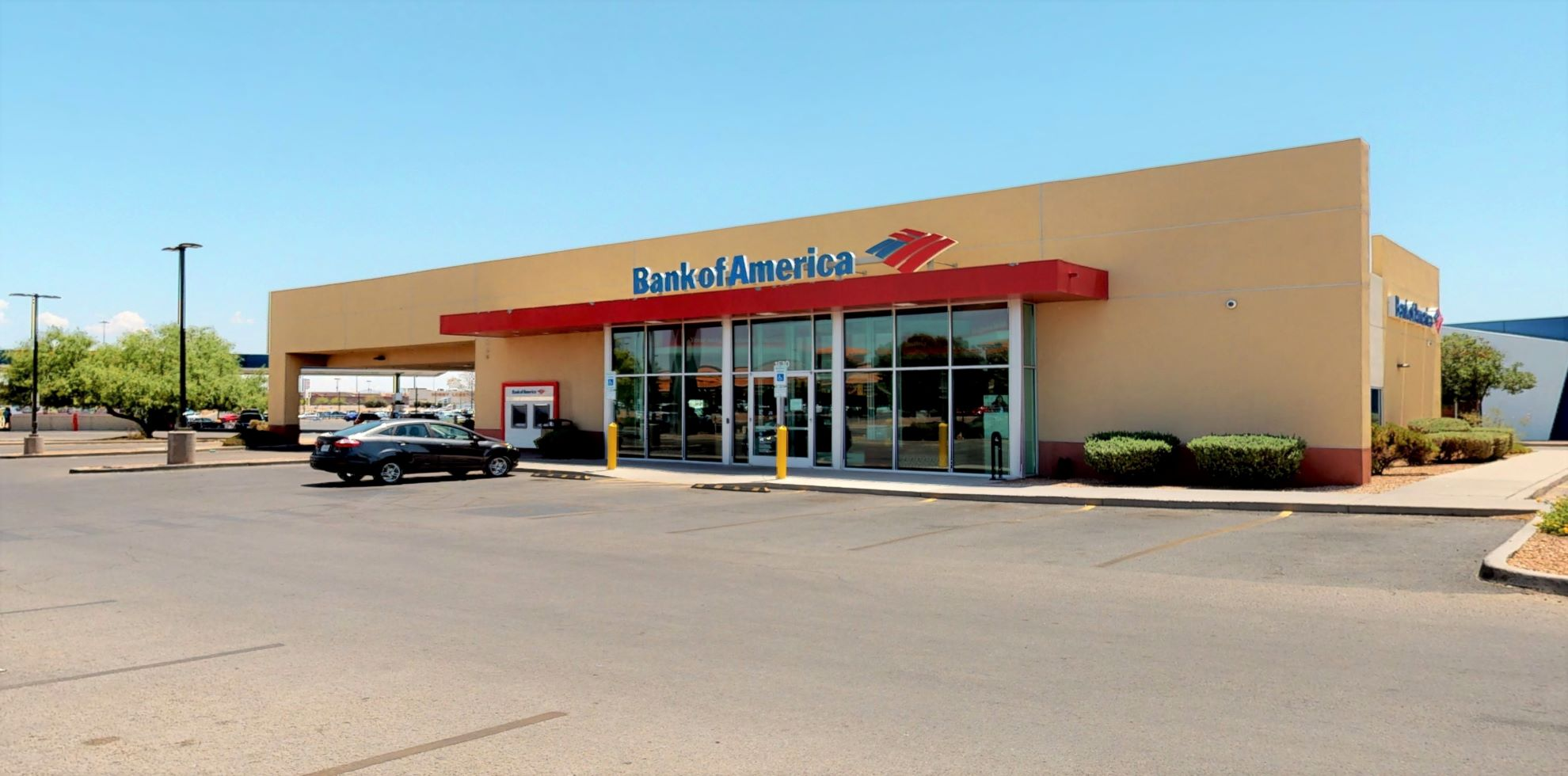 Bank of America financial center with drive-thru ATM and teller   1810 N Zaragoza Rd, El Paso, TX 79936