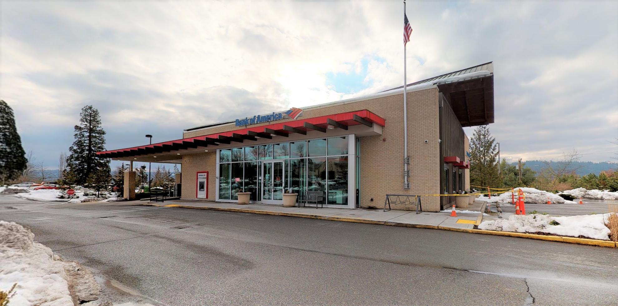 Bank of America financial center with drive-thru ATM | 14104 Main St NE, Duvall, WA 98019