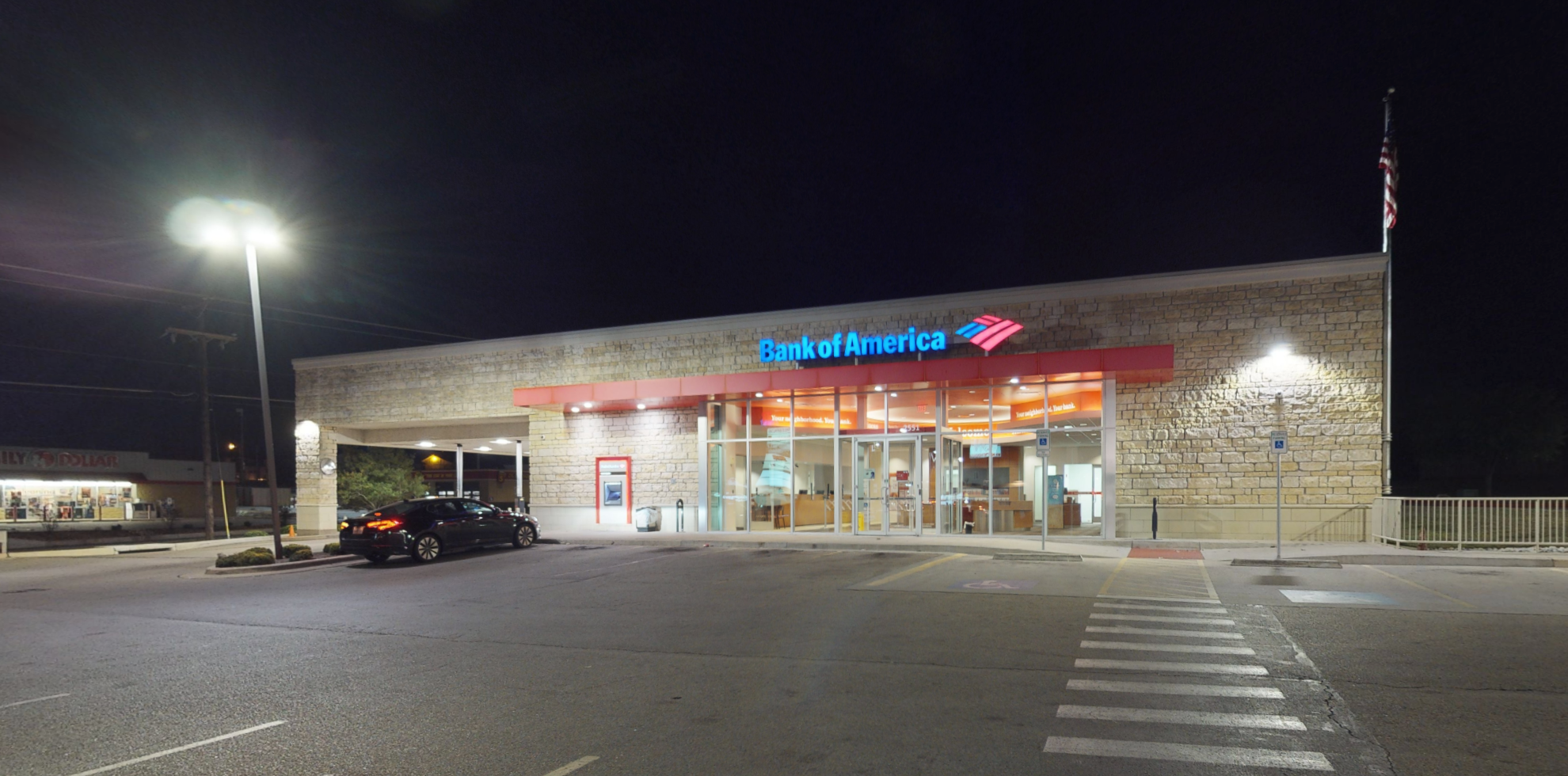 Bank of America financial center with drive-thru ATM and teller | 2551 Trimmier Rd, Killeen, TX 76542