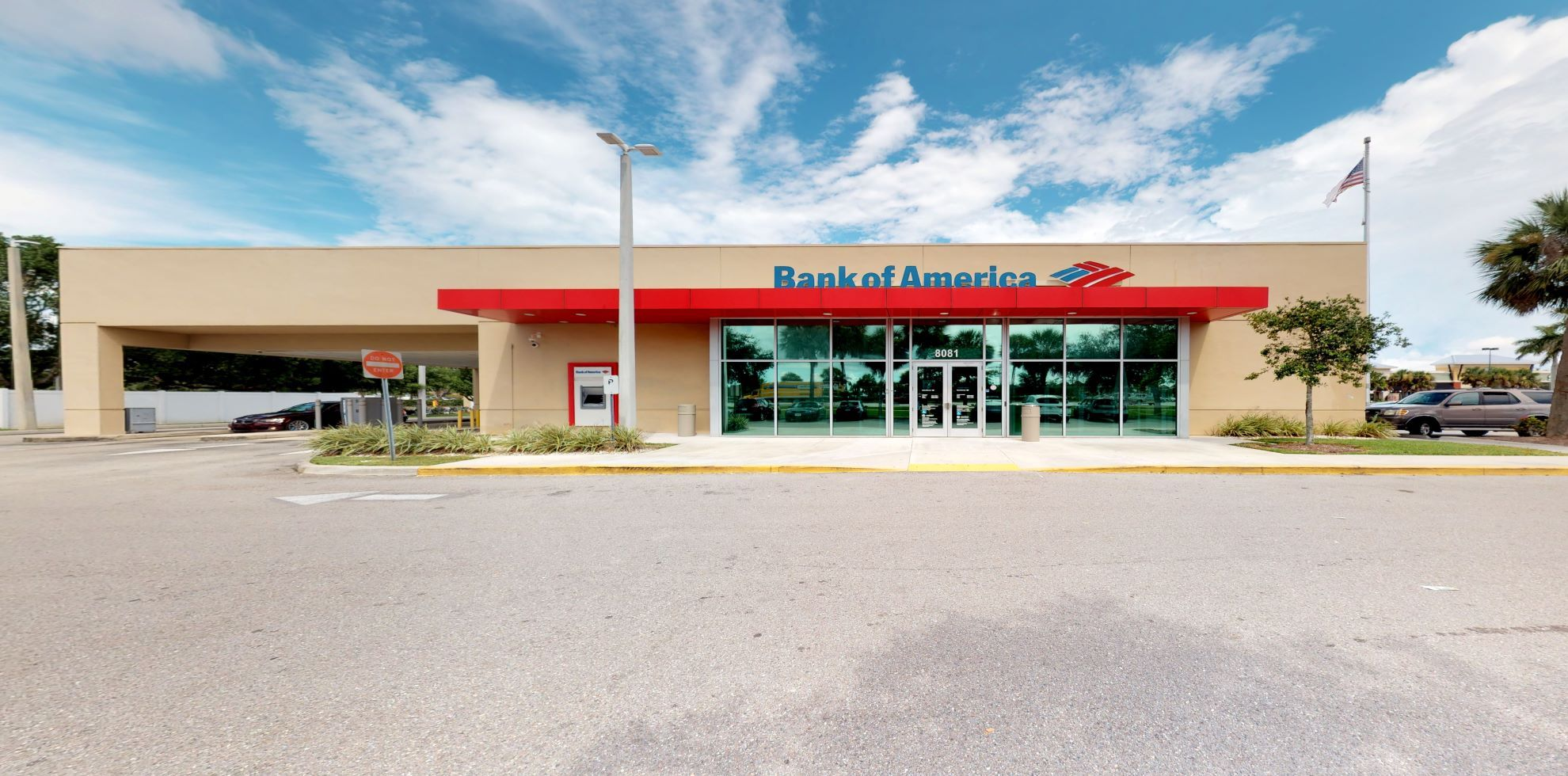 Bank of America financial center with drive-thru ATM and teller   8081 Dani Dr, Fort Myers, FL 33912