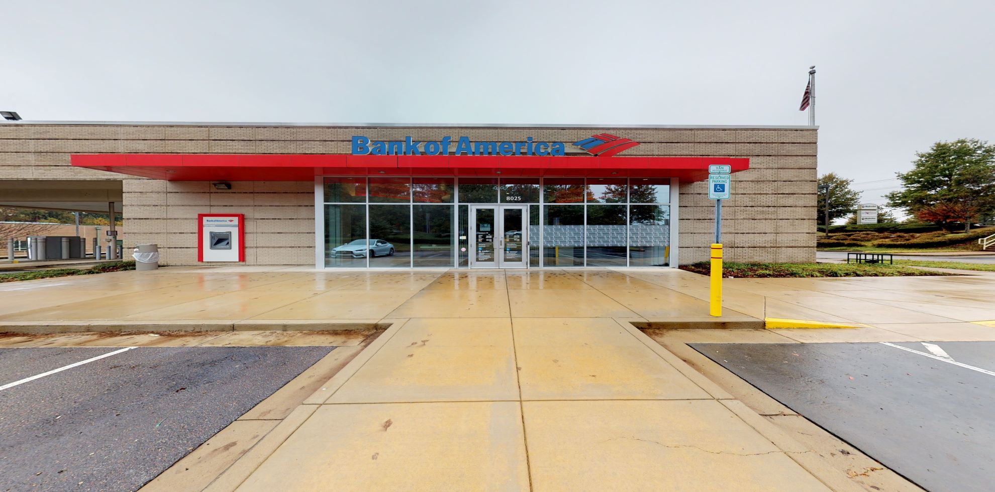 Bank of America financial center with drive-thru ATM | 8025 Winchester Rd, Memphis, TN 38125