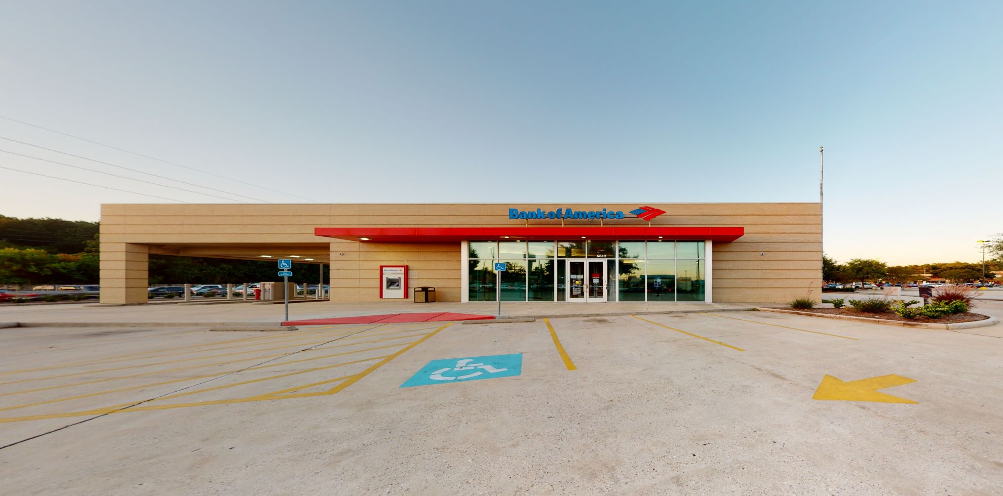 Bank of America financial center with drive-thru ATM and teller   6612 FM 1488 Rd, Magnolia, TX 77354