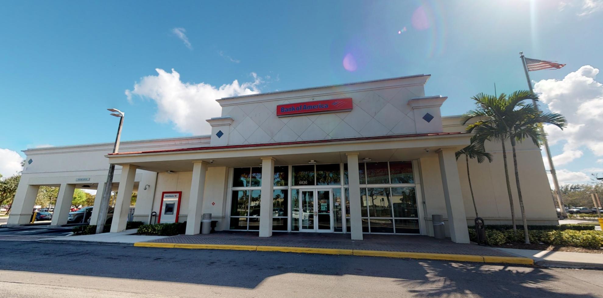 Bank of America financial center with drive-thru ATM   6830 Okeechobee Blvd, West Palm Beach, FL 33411