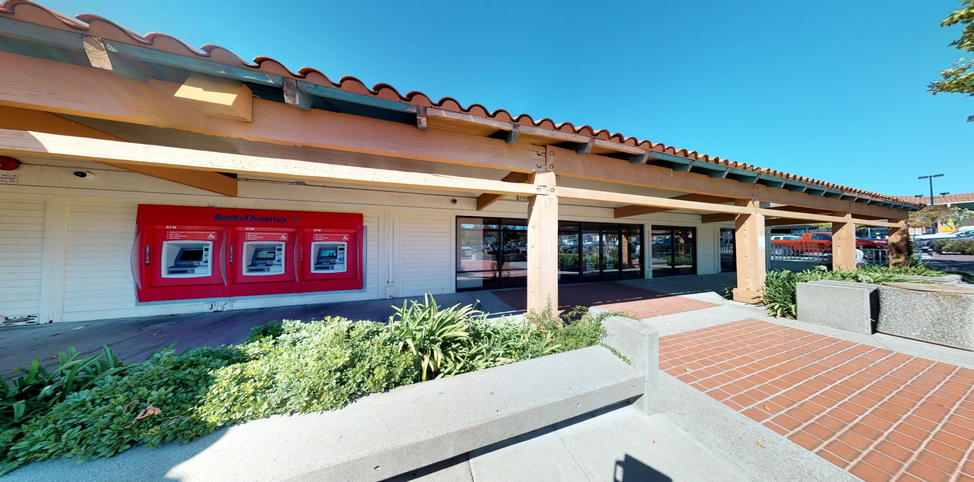 Bank of America financial center with walk-up ATM   1611 Sycamore Ave, Hercules, CA 94547