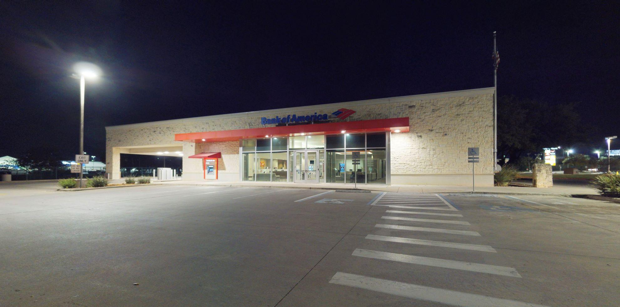 Bank of America financial center with drive-thru ATM and teller   5403 De Zavala Rd, San Antonio, TX 78249