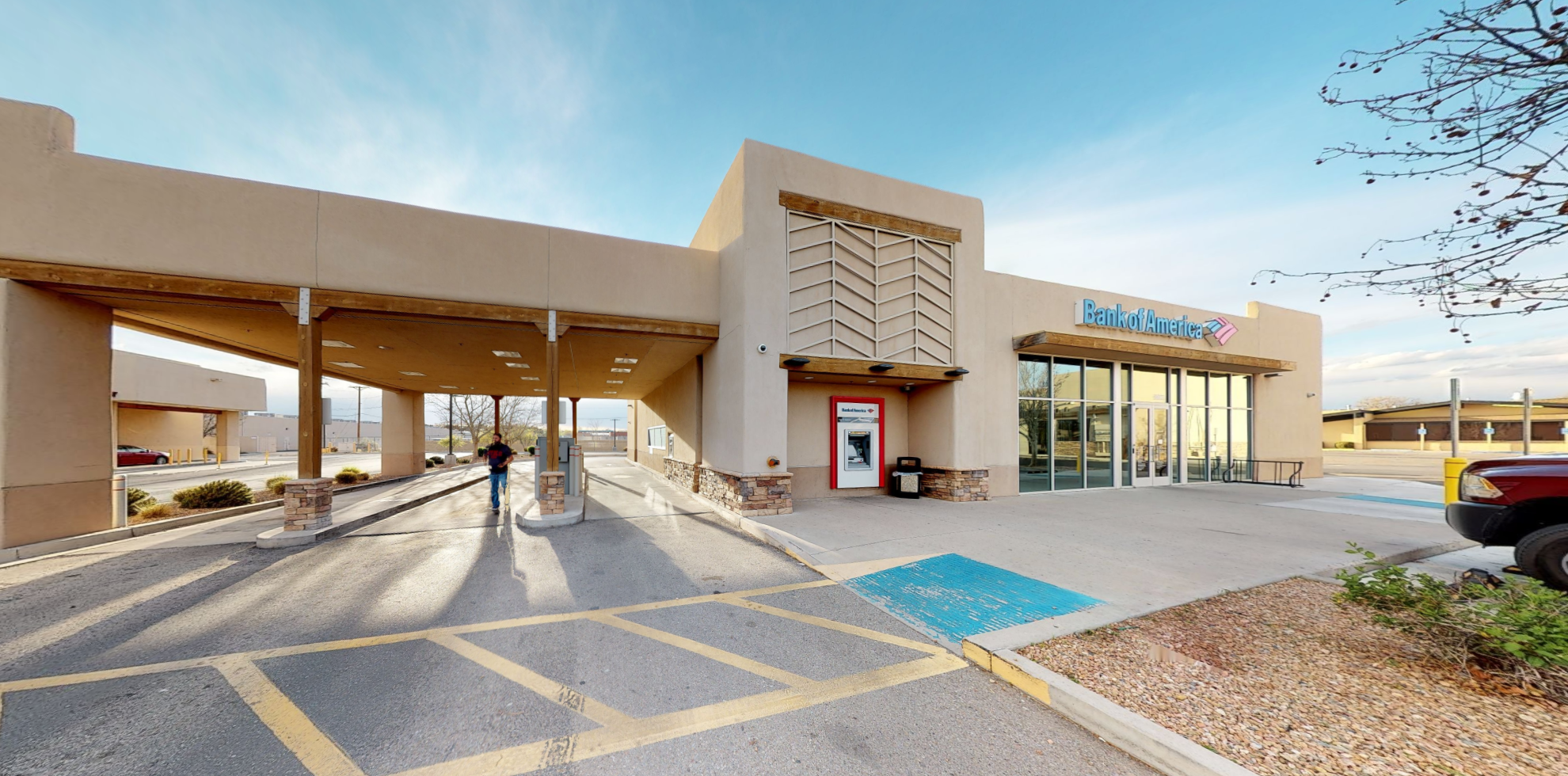 Bank of America financial center with drive-thru ATM | 6603 4th St NW, Albuquerque, NM 87107