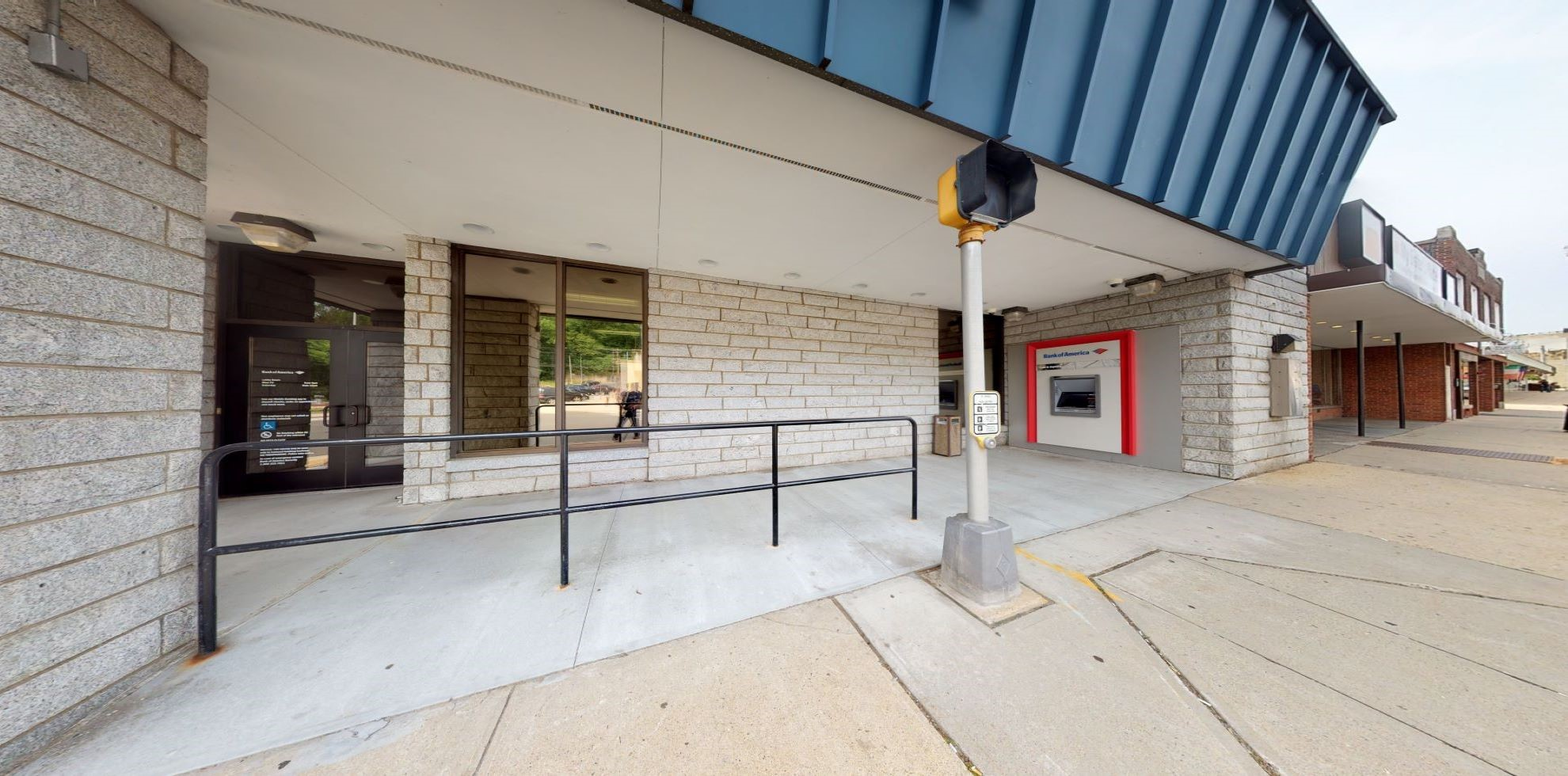 Bank of America financial center with drive-thru ATM | 382 Main St, Ansonia, CT 06401