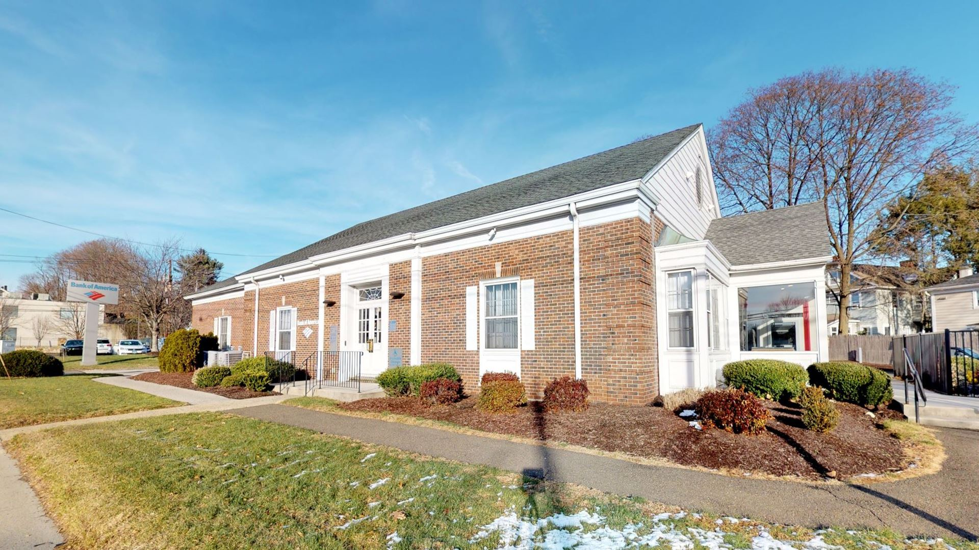 Bank of America financial center with drive-thru ATM   220 Main St, Norwalk, CT 06851