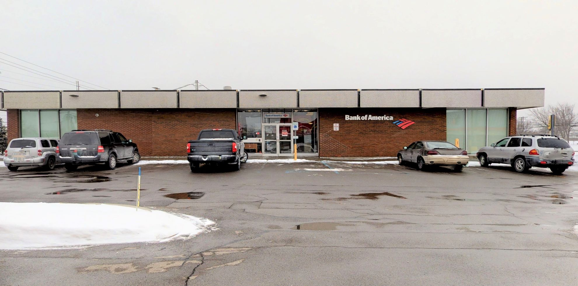 Bank of America financial center with drive-thru ATM   600 Dick Rd, Depew, NY 14043