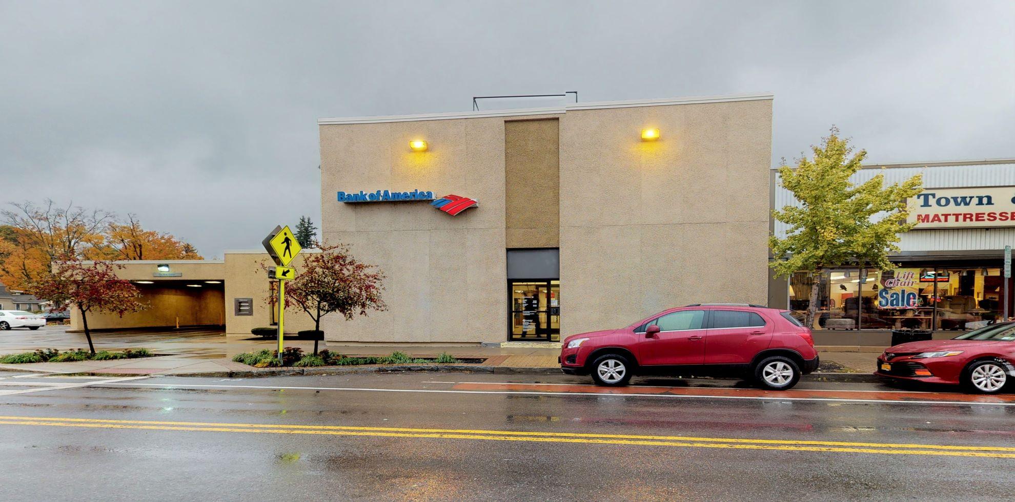 Bank of America financial center with drive-thru ATM   43 Main St, Hamburg, NY 14075