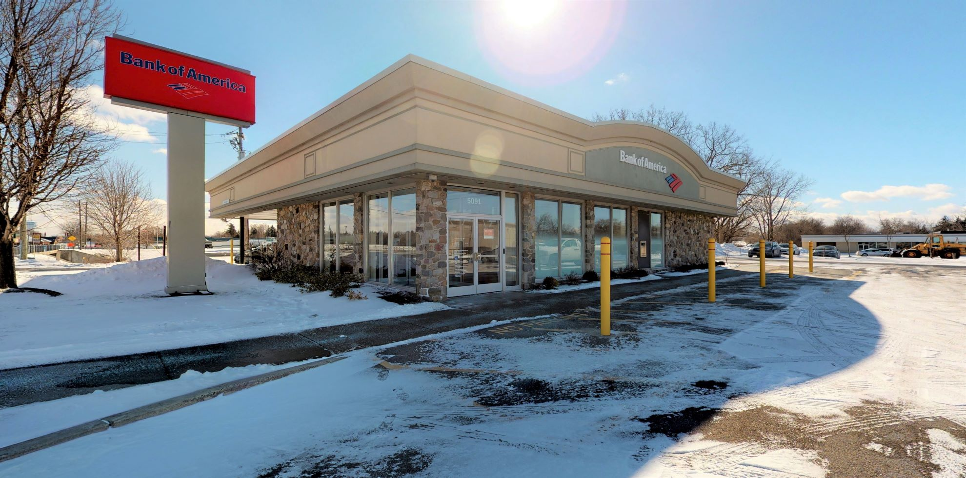 Bank of America financial center with drive-thru ATM | 5091 Broadway, Depew, NY 14043