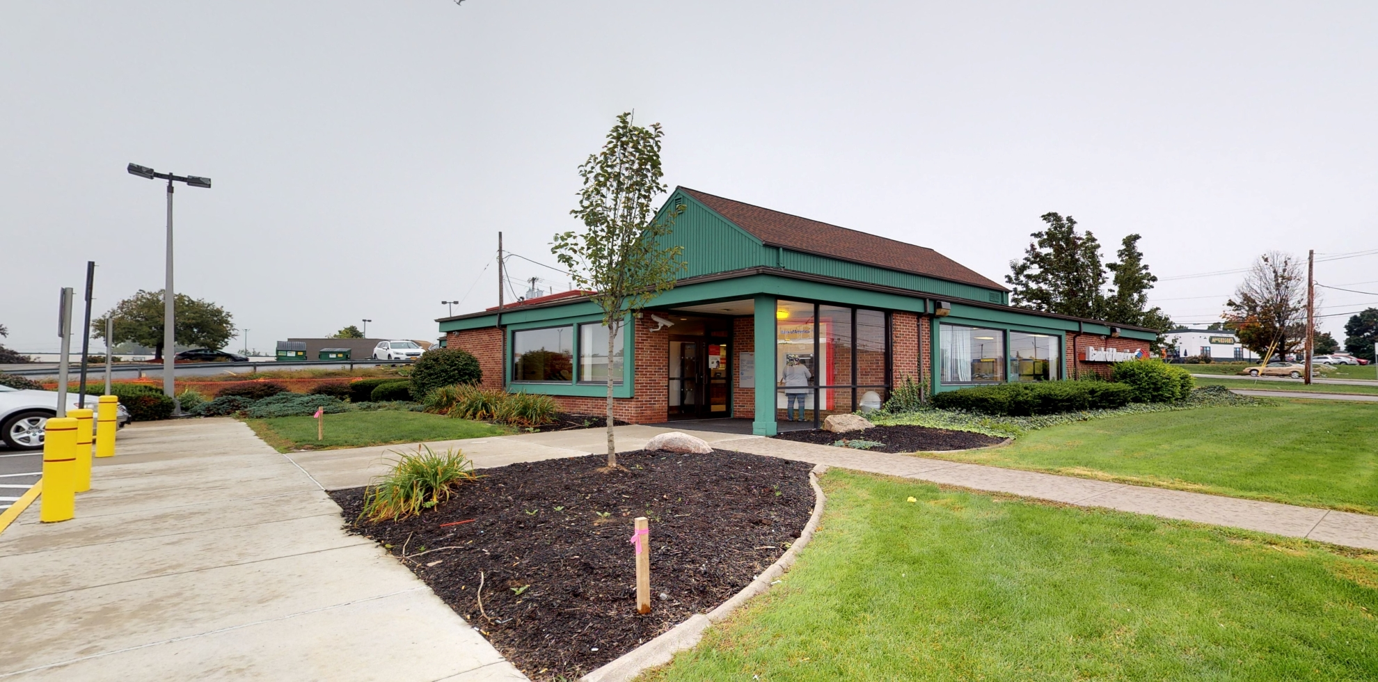 Bank of America financial center with drive-thru ATM   100 Pixley Rd, Rochester, NY 14624
