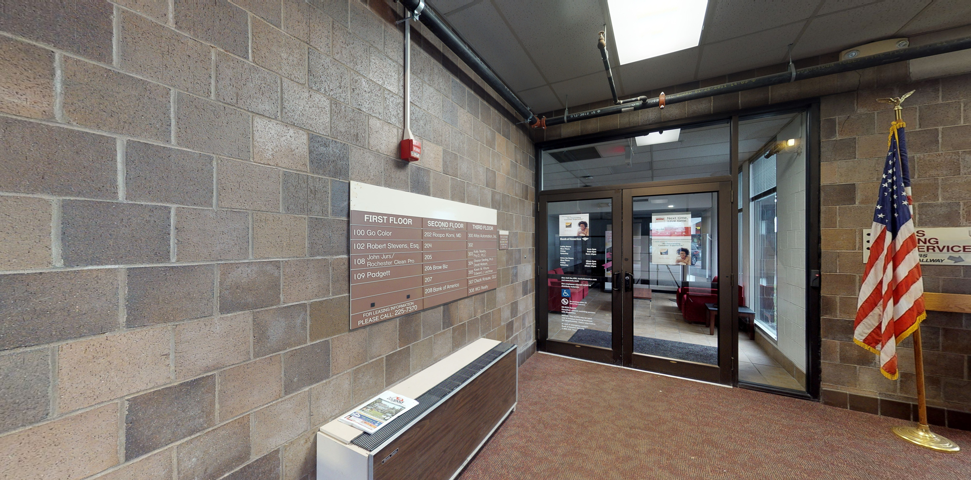 Bank of America financial center with drive-thru ATM and teller | 2450 Ridge Rd W, Rochester, NY 14626