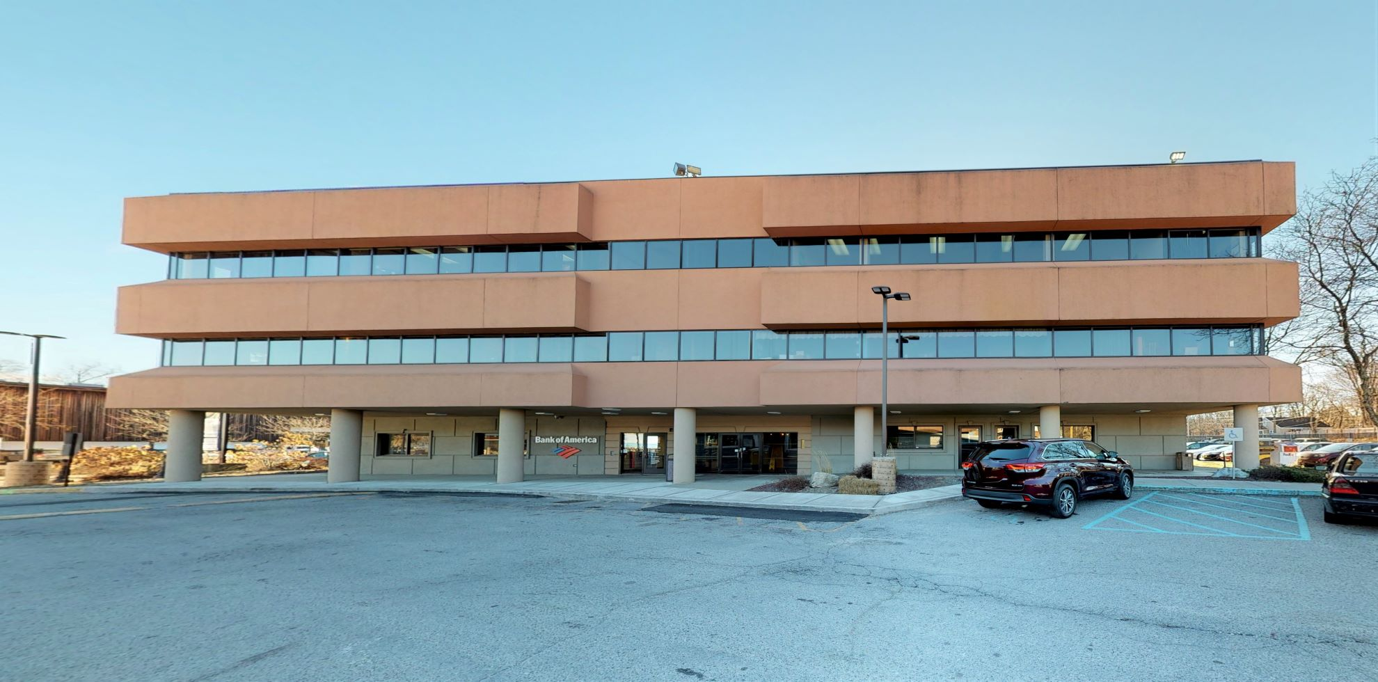 Bank of America financial center with drive-thru ATM | 11 Raymond Ave, Poughkeepsie, NY 12603