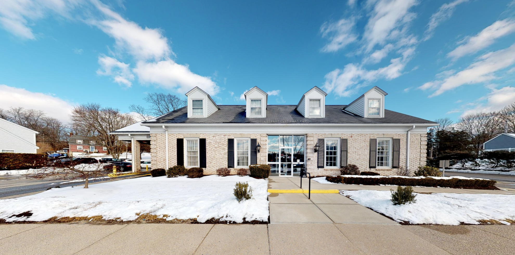 Bank of America financial center with drive-thru ATM | 1975 Mendon Rd, Cumberland, RI 02864
