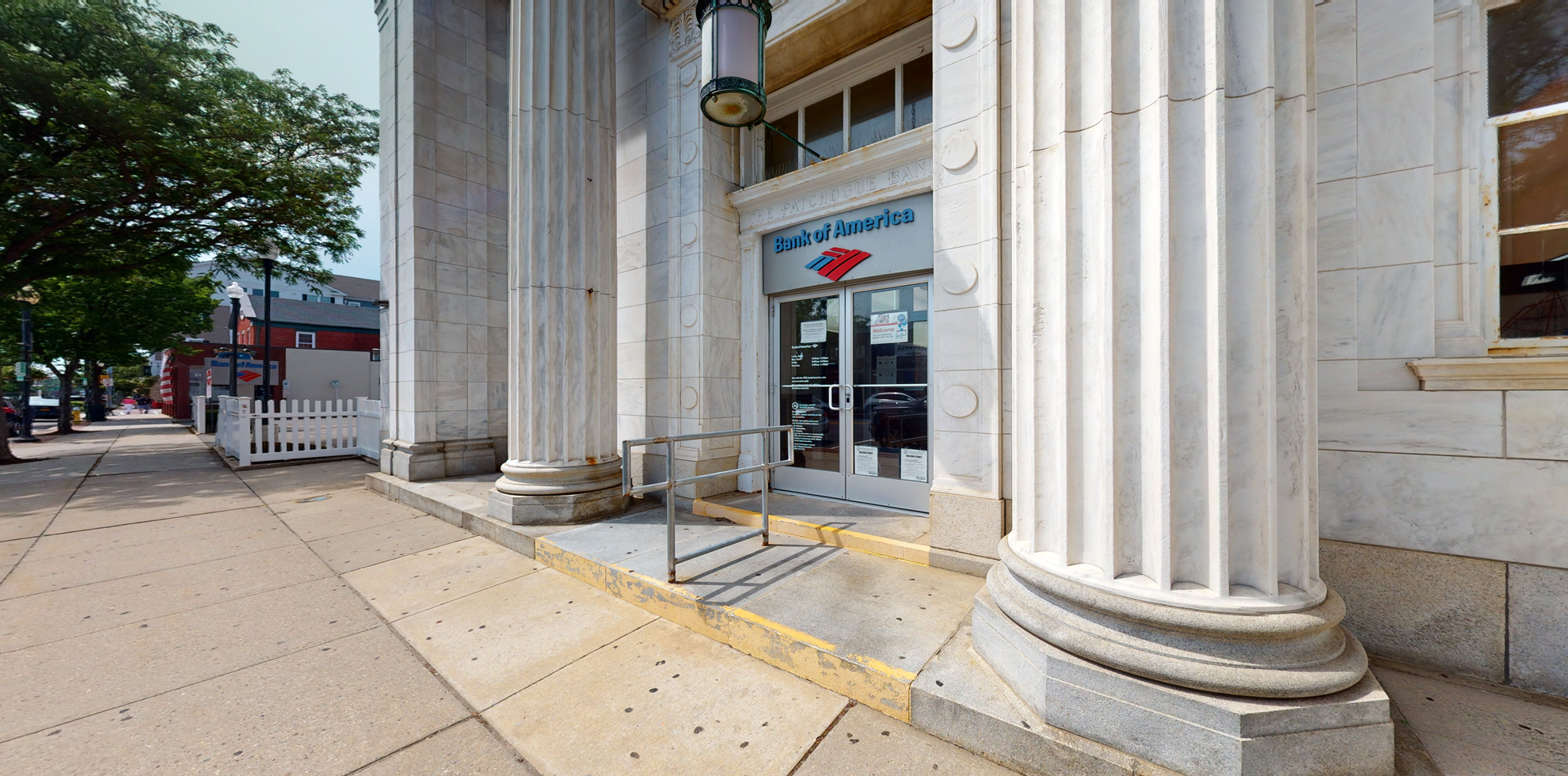 Bank of America financial center with drive-thru ATM   47 W Main St, Patchogue, NY 11772