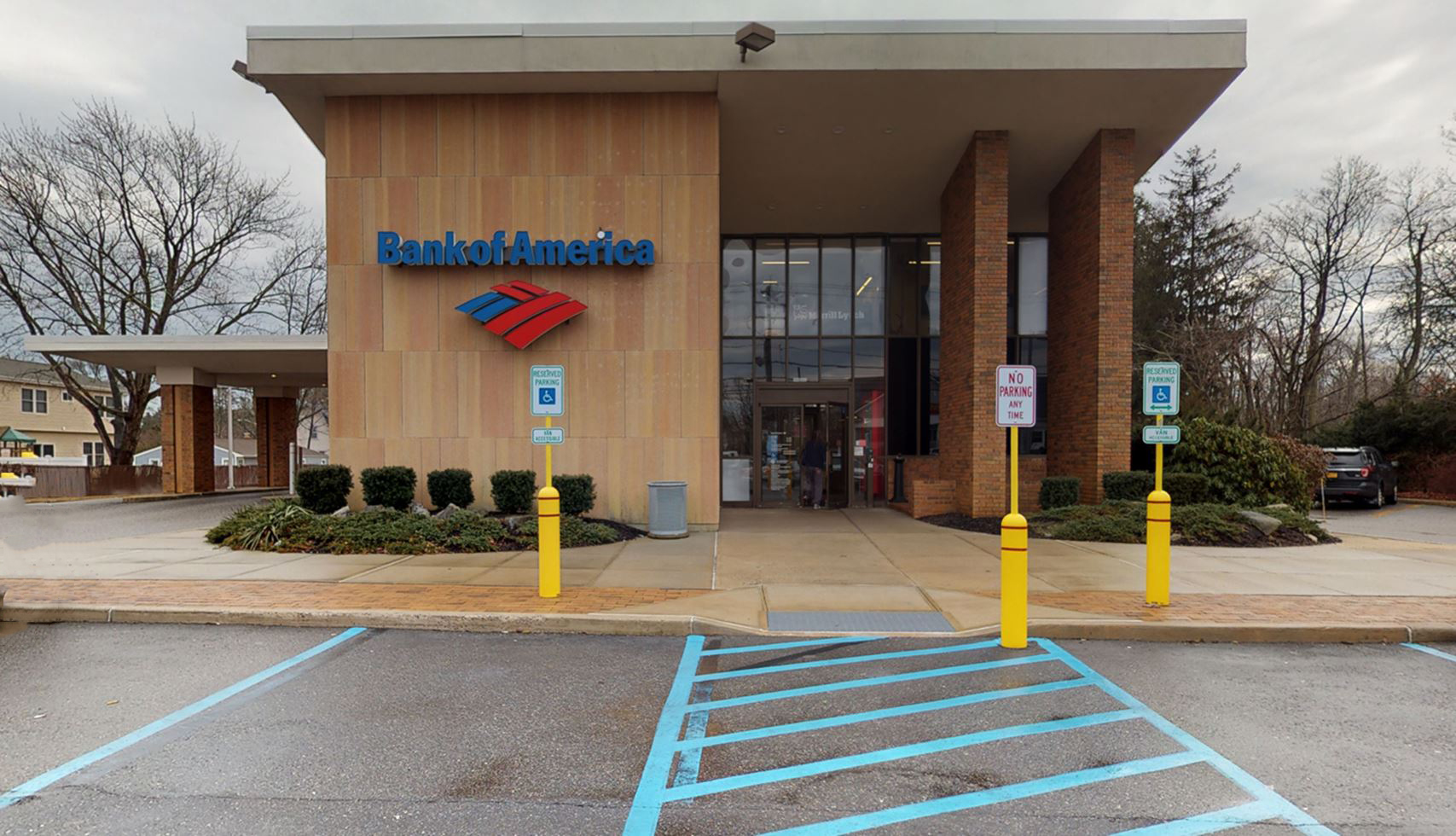 Bank of America financial center with drive-thru ATM | 540 Montauk Hwy, West Islip, NY 11795