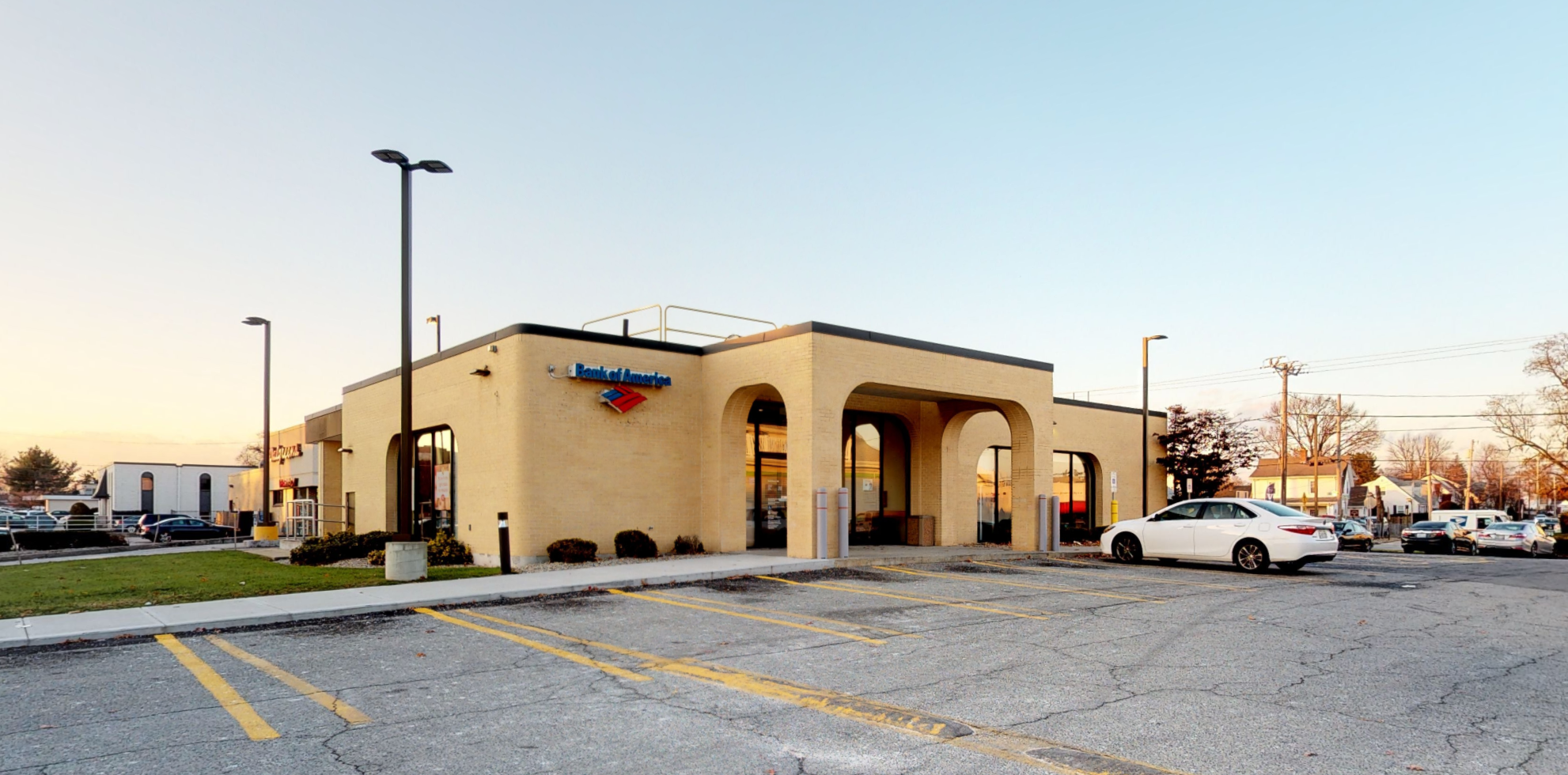 Bank of America financial center with drive-thru ATM | 1000 Park Ave, Cranston, RI 02910