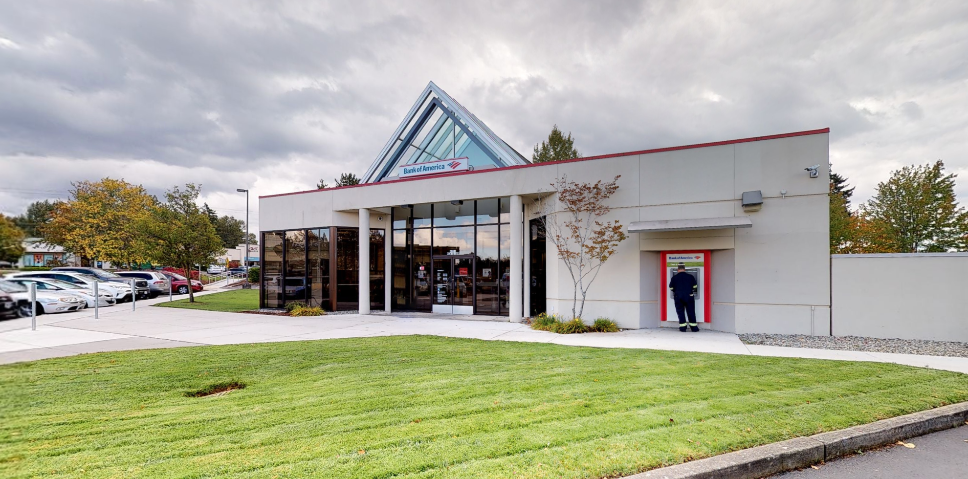 Bank of America financial center with drive-thru ATM | 4251 Guide Meridian, Bellingham, WA 98226