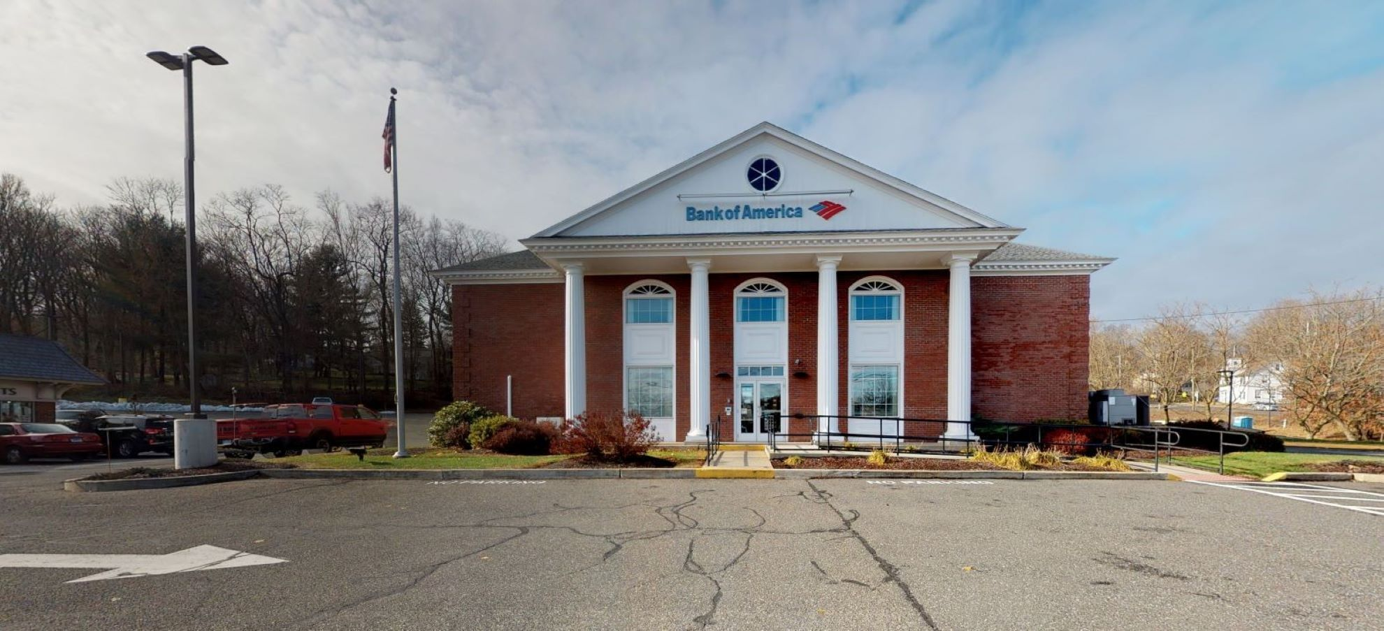 Bank of America financial center with walk-up ATM   955 White Plains Rd, Trumbull, CT 06611