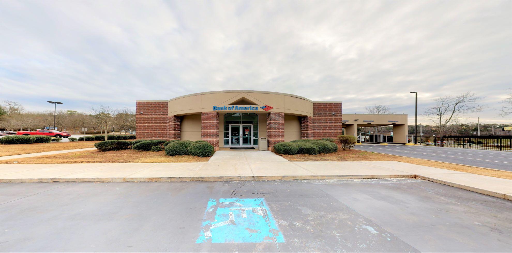 Bank of America financial center with drive-thru ATM   3495 Cascade Rd SW, Atlanta, GA 30311