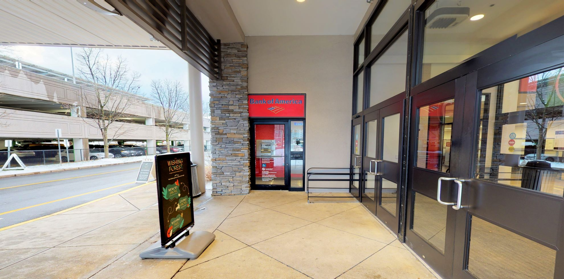 Bank of America financial center with walk-up ATM | 1245 Worcester Rd, Natick, MA 01760