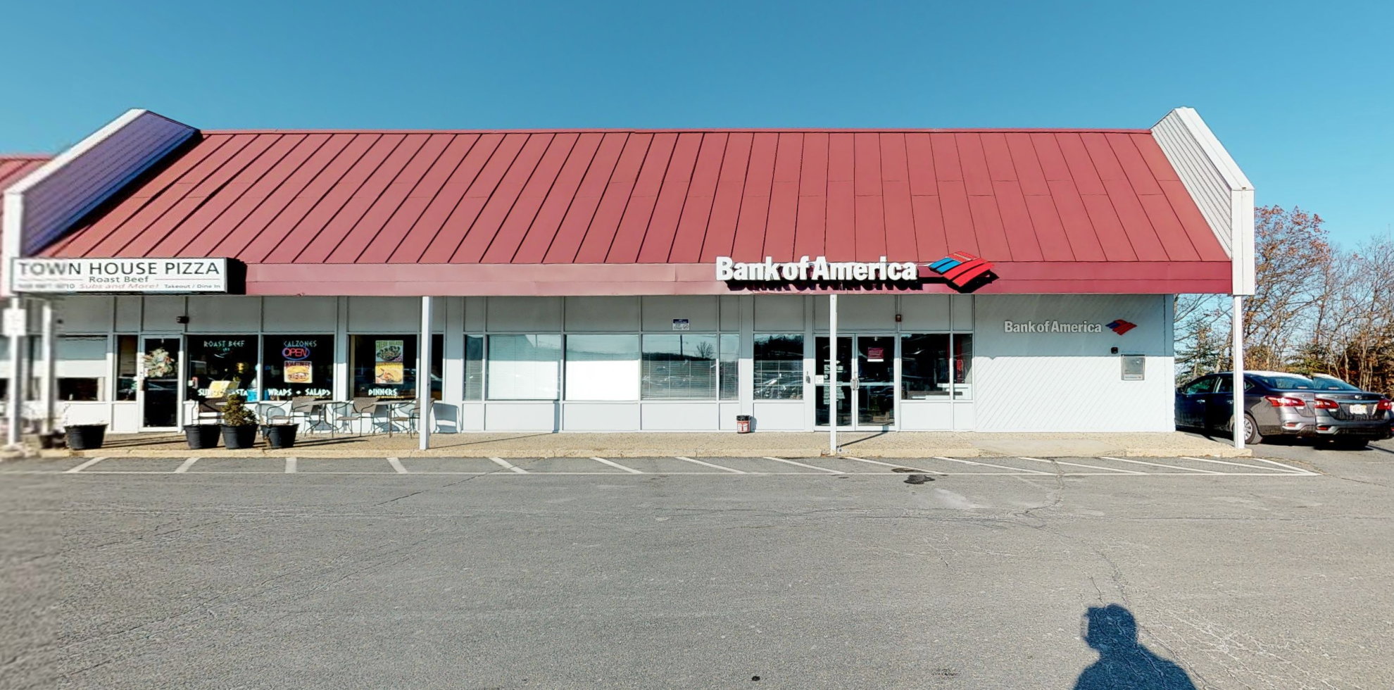 Bank of America financial center with drive-thru ATM   300 Eliot St, Ashland, MA 01721